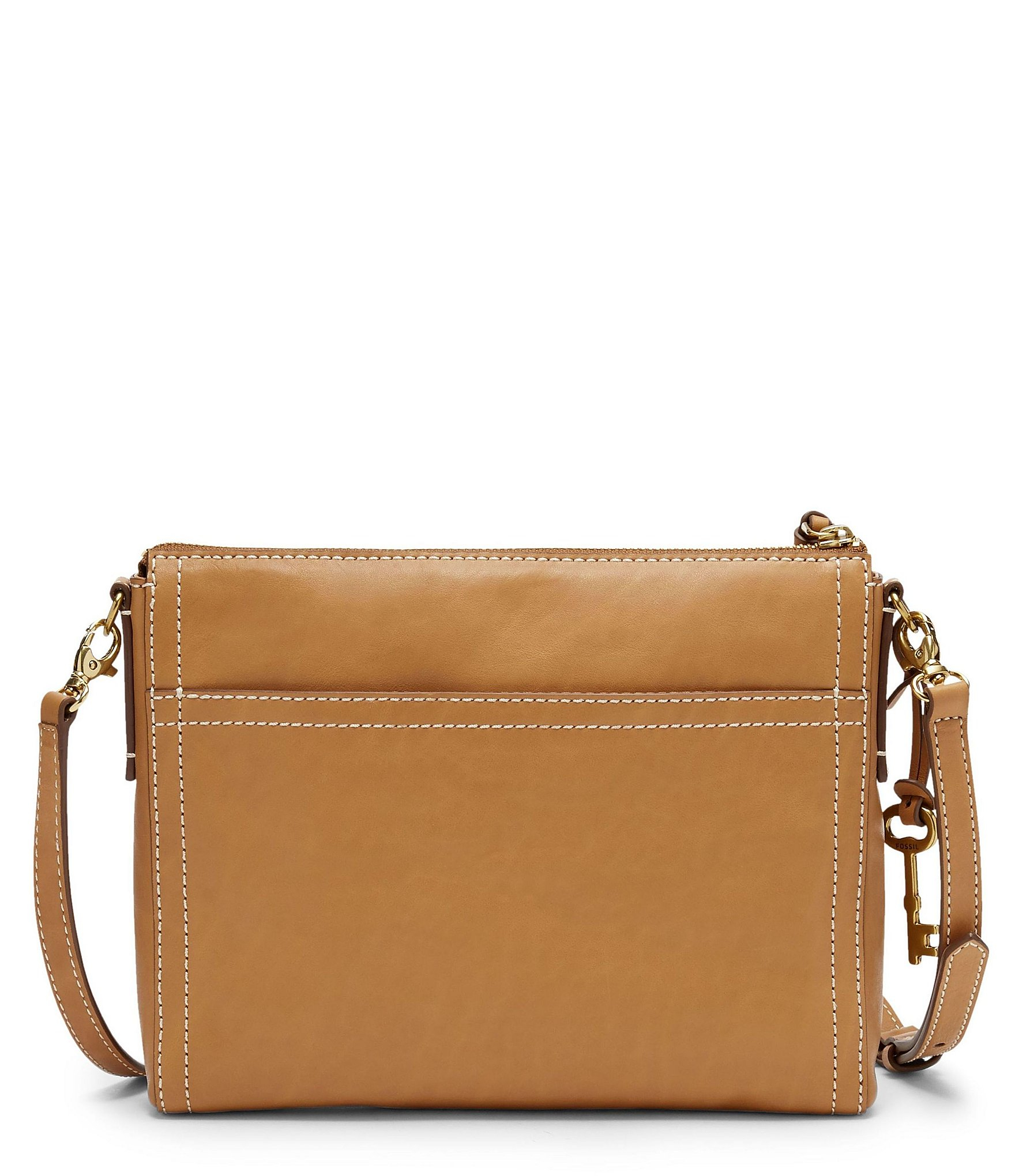 dc4c3d117c53 Fossil Emma East/west Cross-body Bag in Brown - Lyst
