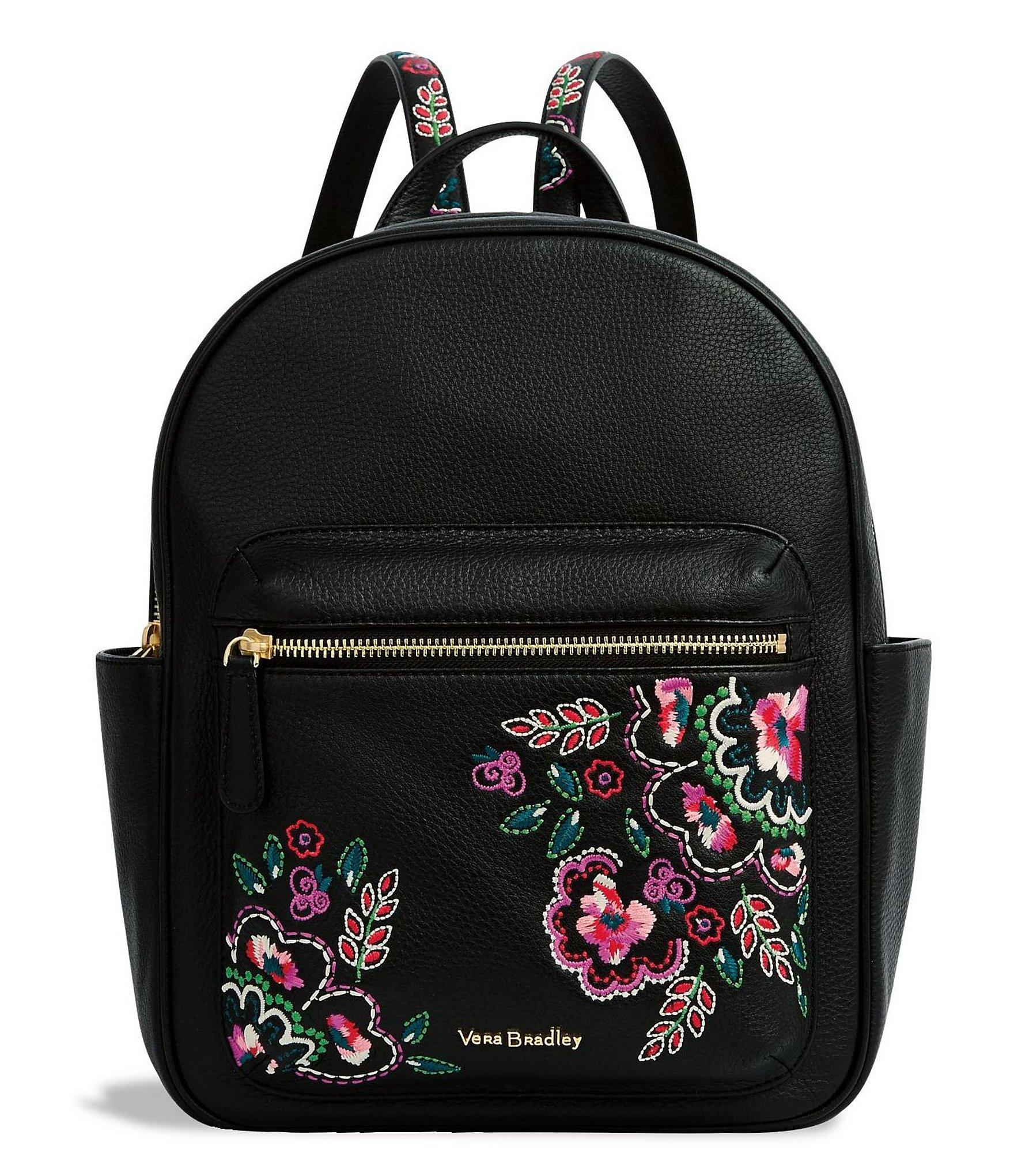 Lyst Vera Bradley Leighton Floral Embroidered Backpack