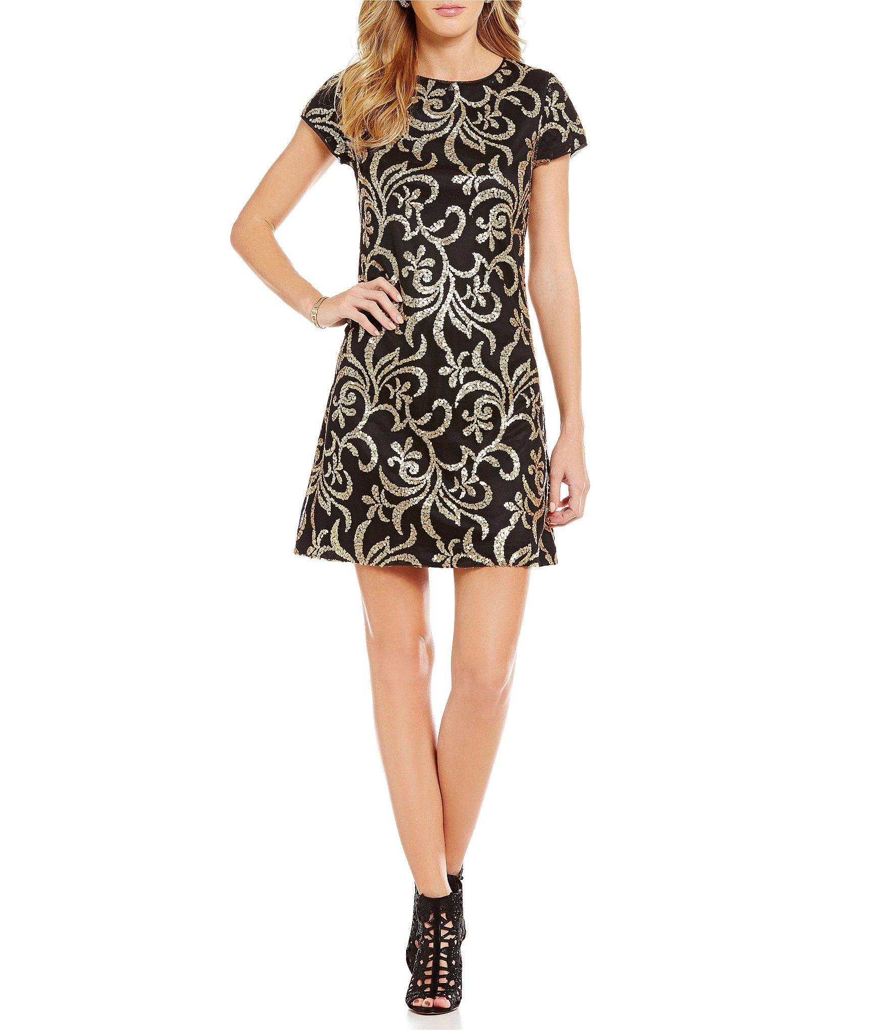 From Jessica Simpson, this dress features: Sheath silhouette. Crew ...
