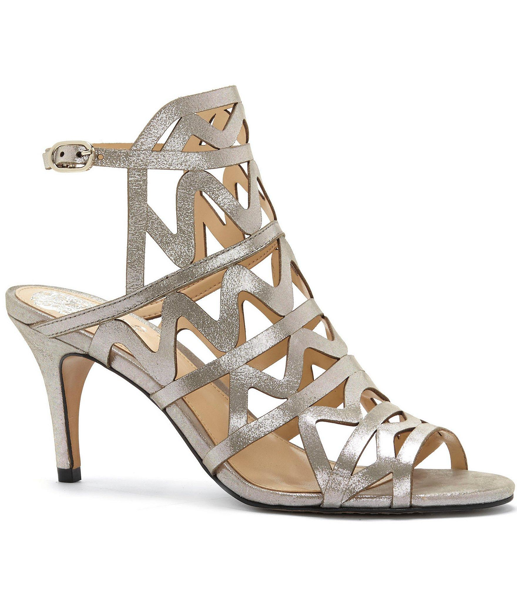 Lyst Vince Camuto Prisintha Ankle Strap Caged Dress Sandals