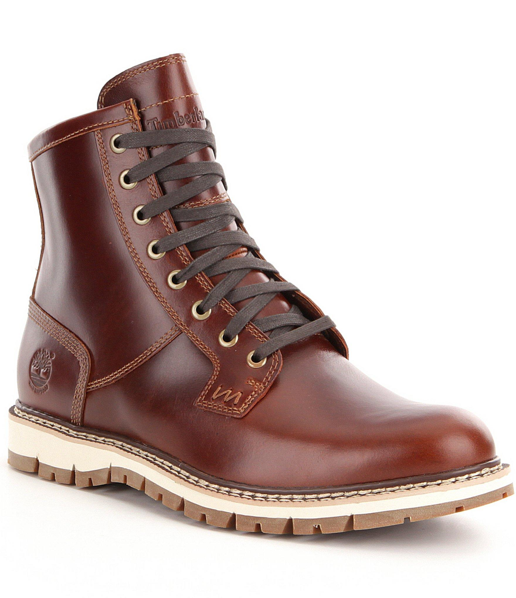 timberland men s britton hill waterproof boot in brown. Black Bedroom Furniture Sets. Home Design Ideas