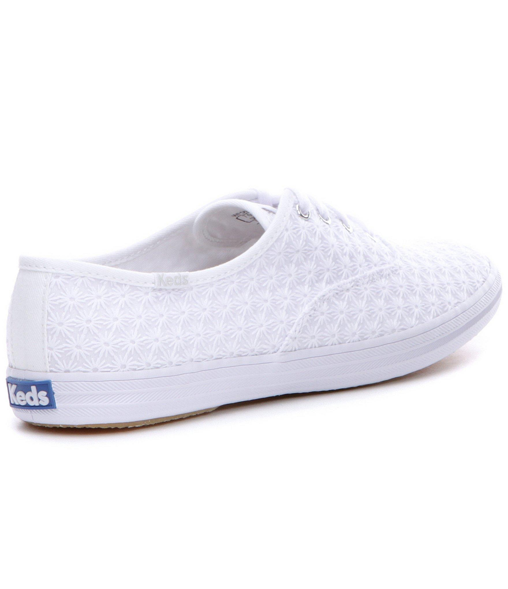 501086a940f Lyst - Keds Champion Mini Daisy Sneakers in White
