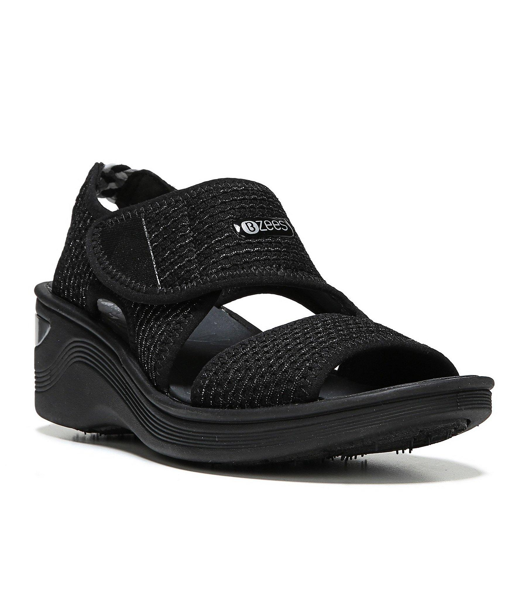 Bzees Aloha Slip Ons In Black Lyst