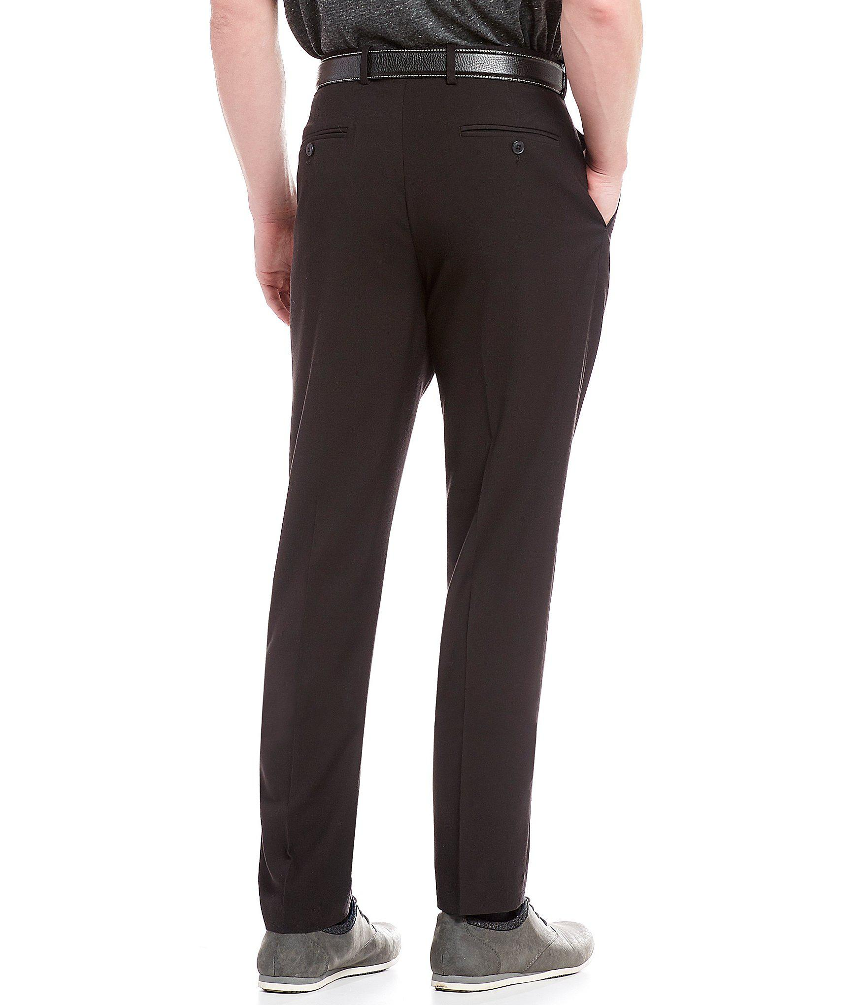 cf98702800 Lyst - Perry Ellis Non-iron Slim-fit Solid Linen Performance Stretch ...