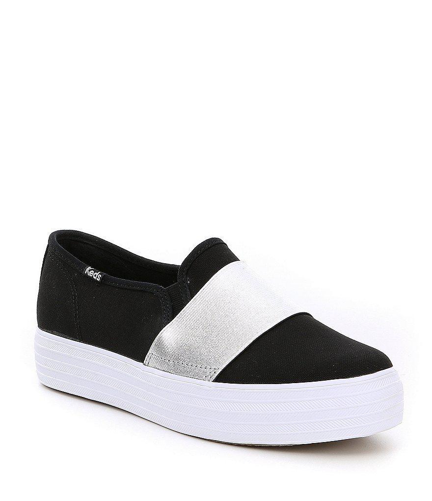 Triple Canvas Bandeau Sneakers nTSrs