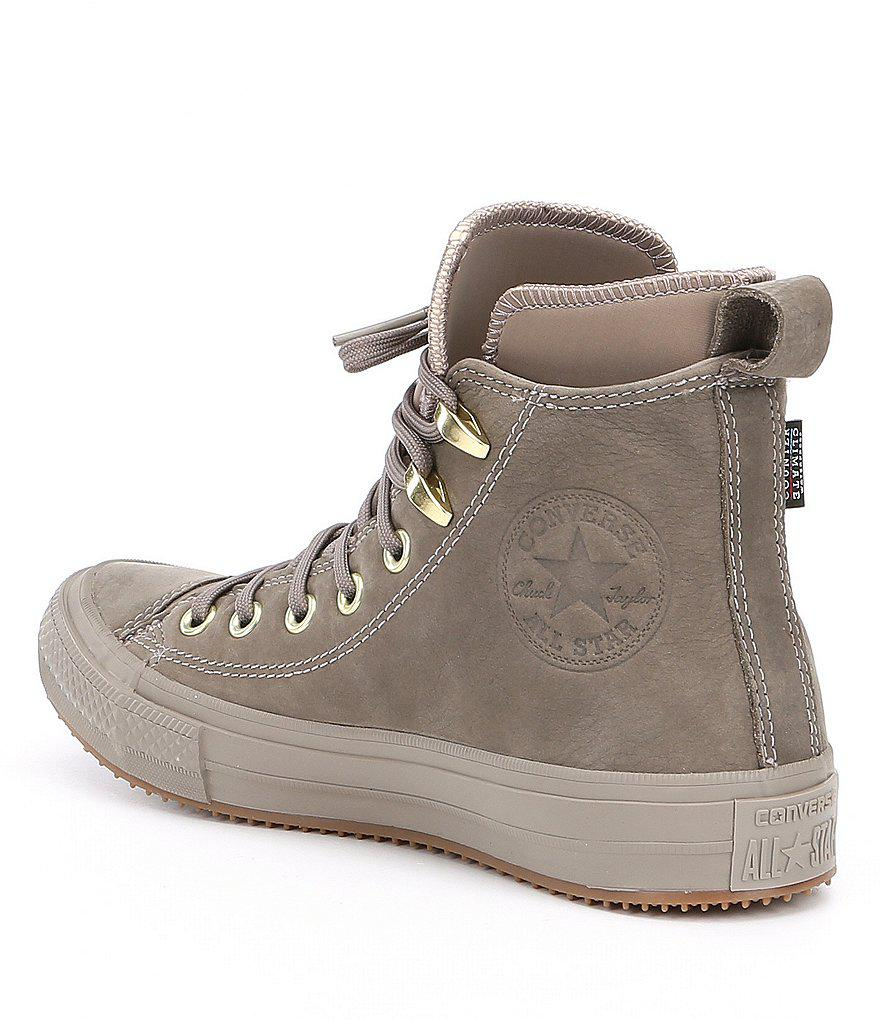 8495e6d9f5f Lyst - Converse Women S Chuck Taylor All Star Waterproof Boot Hi Top ...