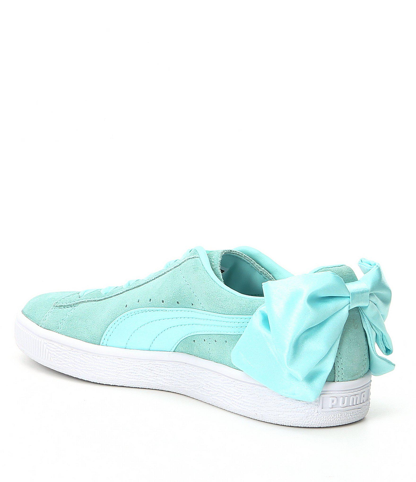 ... Lyst - Puma Suede Satin Bow Detail Sneakers in Black autumn shoes 8aad1  dd5e7 ... e2454d0c4