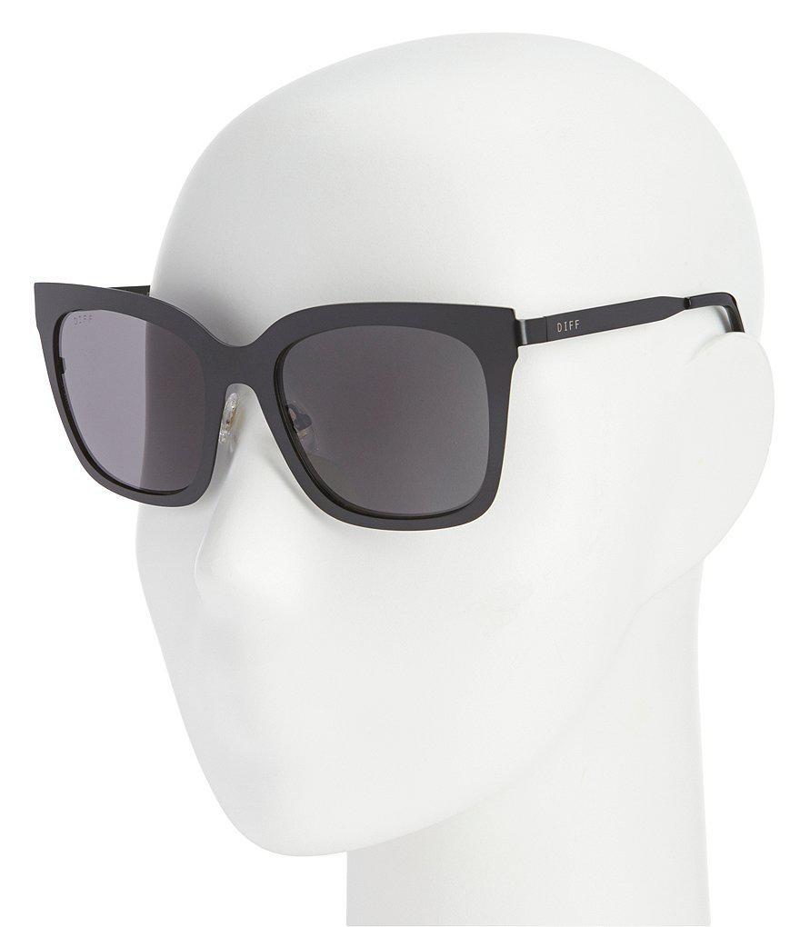 9716f42cbc591 DIFF Lauren Akins Ella Sunglasses in Gray - Lyst