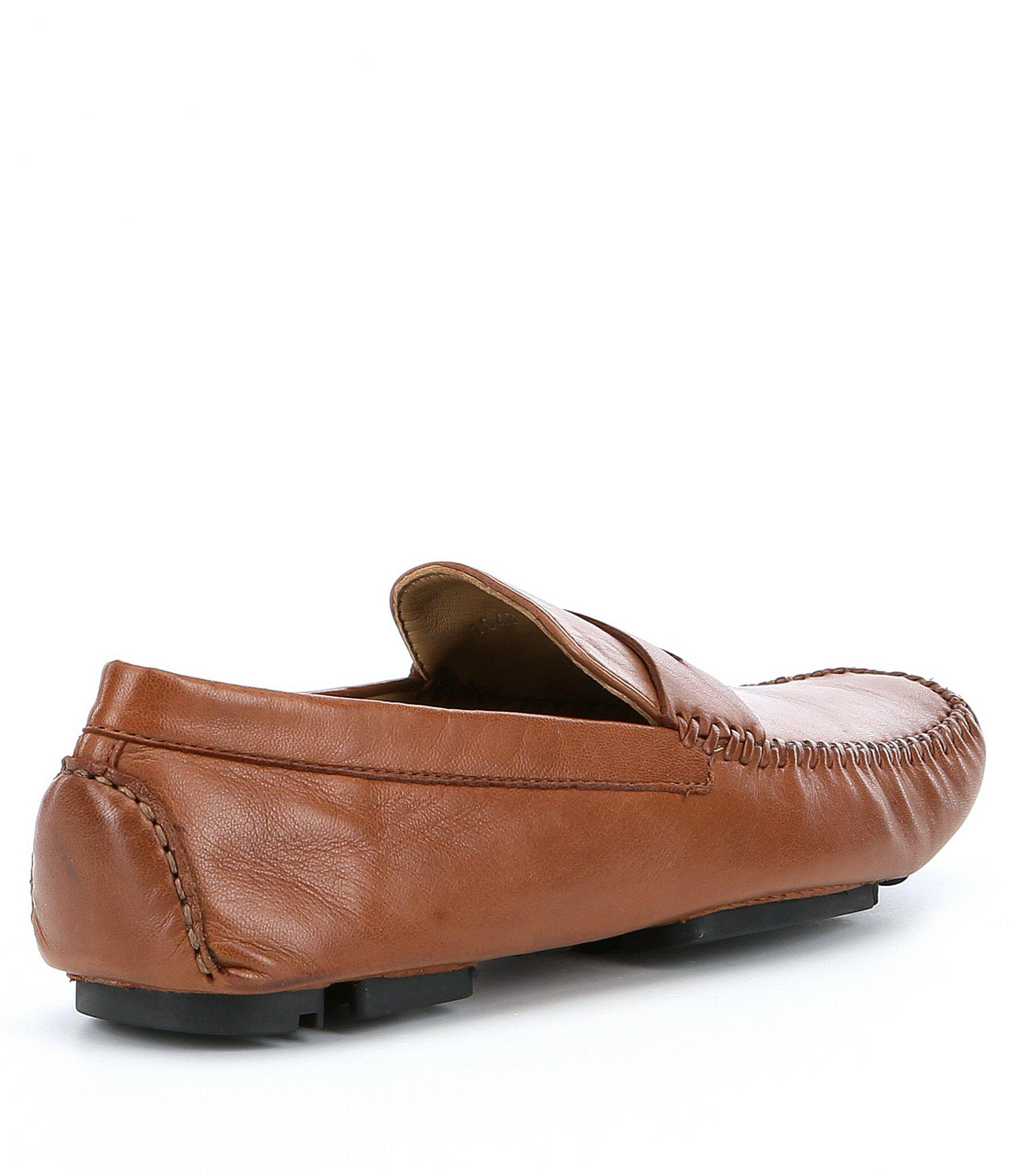 30782ec979b Lyst - Robert Zur Men ́s Sven Leather Penny Loafers in Brown for Men