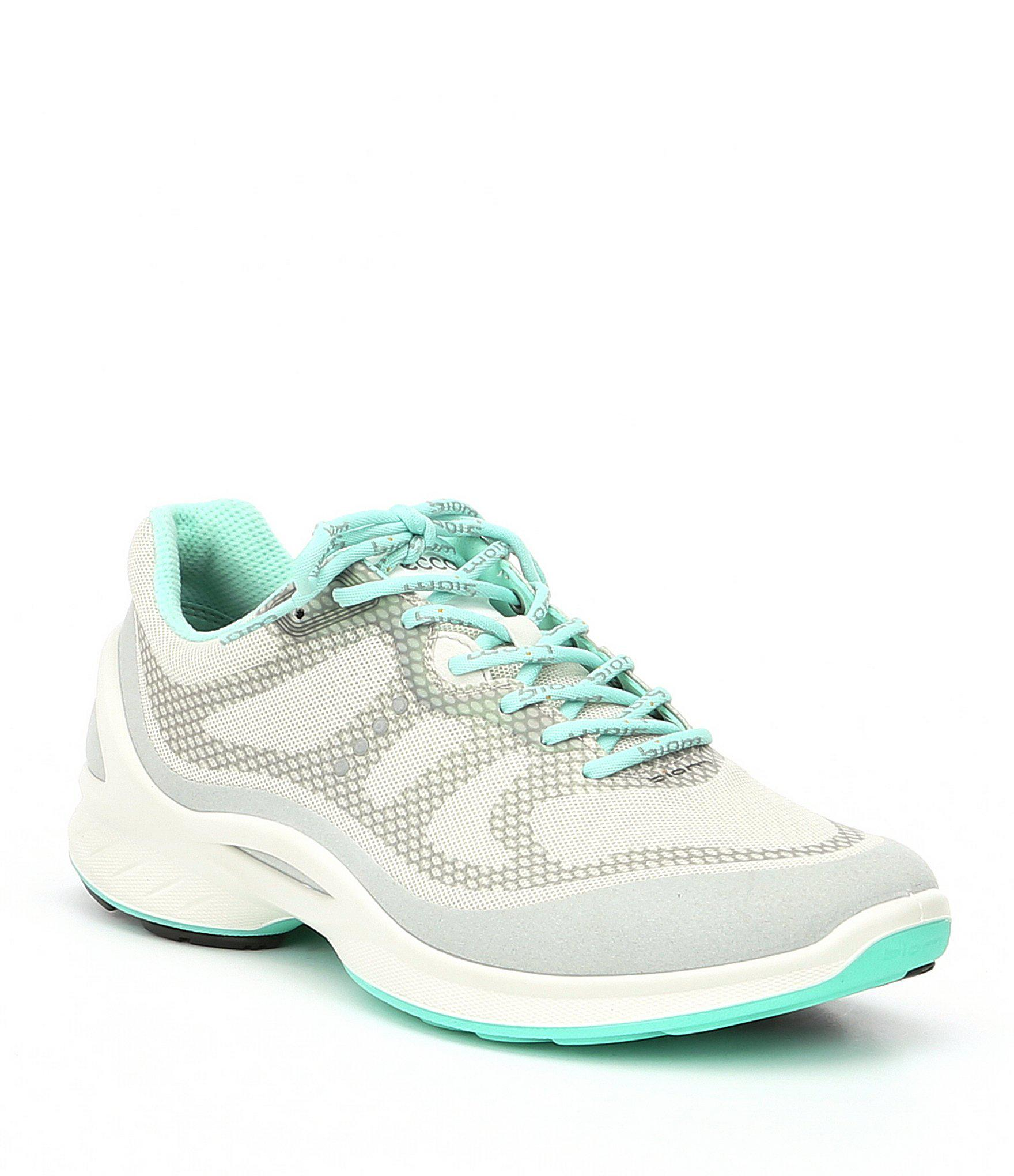48253d98 Lyst - Ecco Women's Biom Fjuel Tie Sneakers in White