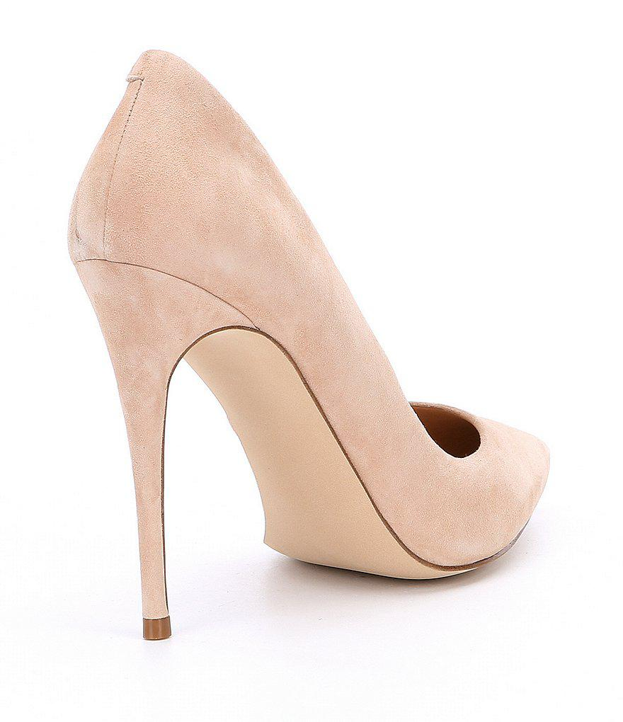 Steve Madden Daisie Pointed Toe Suede Pumps aa2Nu