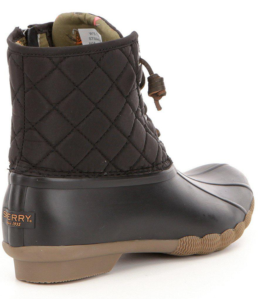 Saltwater Quilted Waterproof Matte Lace Up Cold-Weather Duck Boots imfkWP