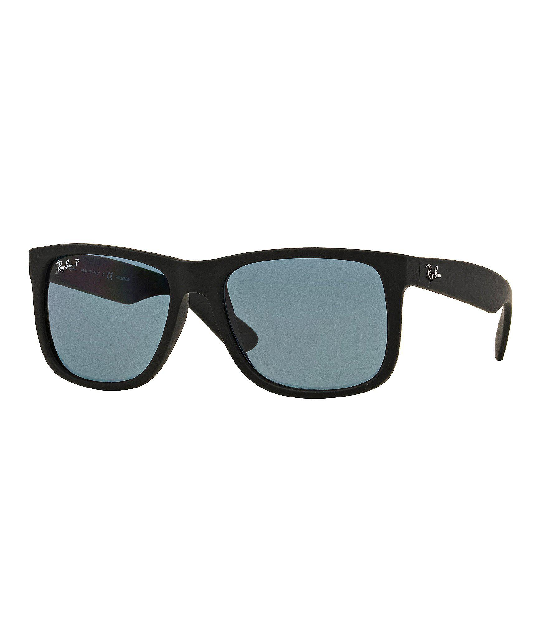46bcb77f51 Lyst - Ray-Ban Justin Polarized Sunglasses in Black for Men