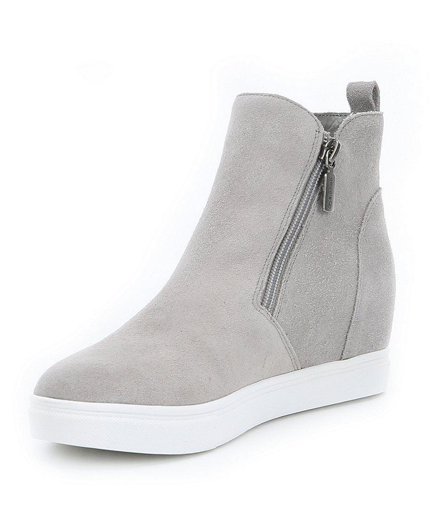 Blondo Suede Waterproof Giselle Sneakers tAStIiY