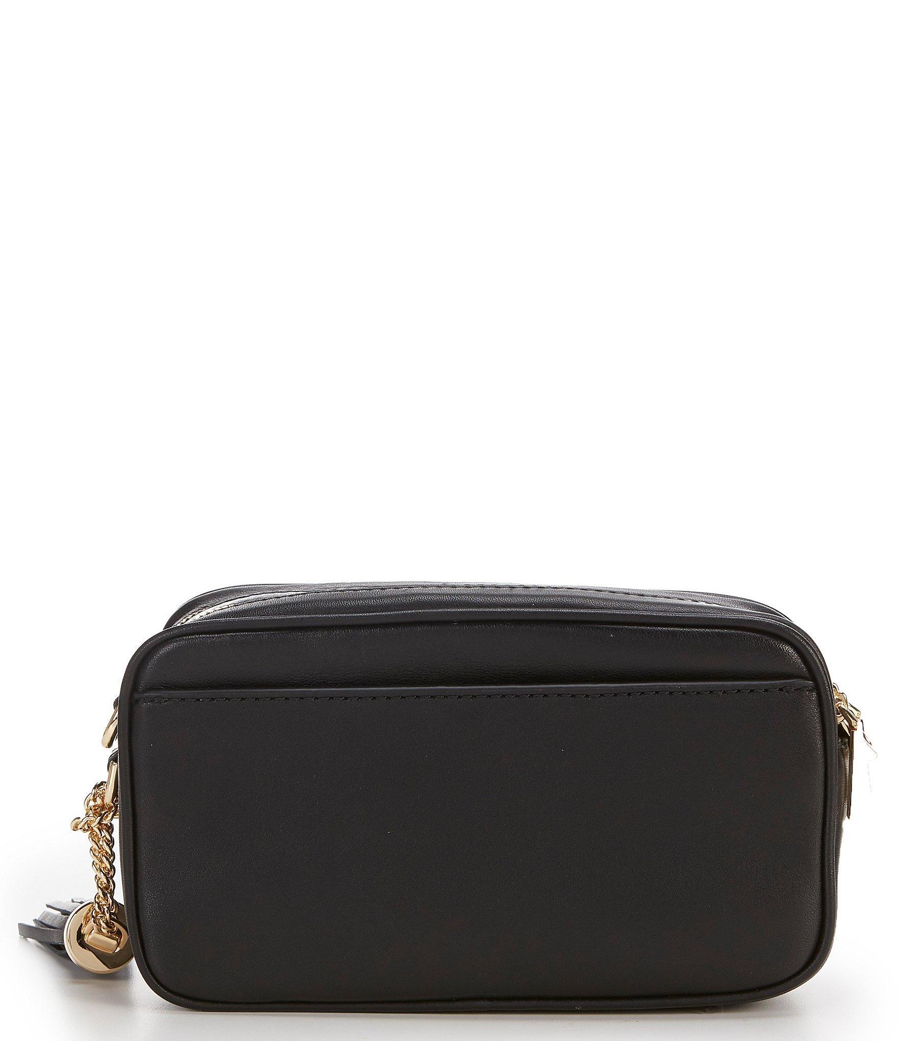 e9e9016fcdc4 MICHAEL Michael Kors - Black Small Quilted Camera Cross-body Bag - Lyst.  View fullscreen