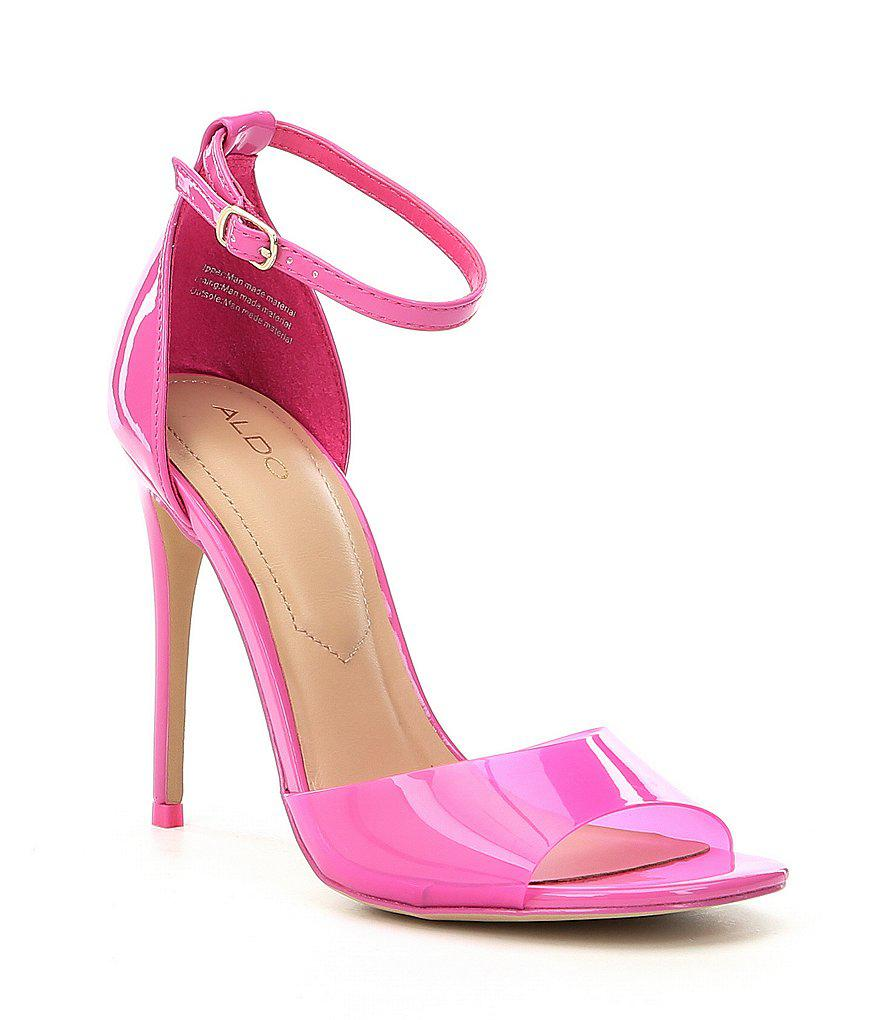 2d86b6cdb7d Lyst - ALDO Ligoria Ankle Strap Dress Sandals in Yellow