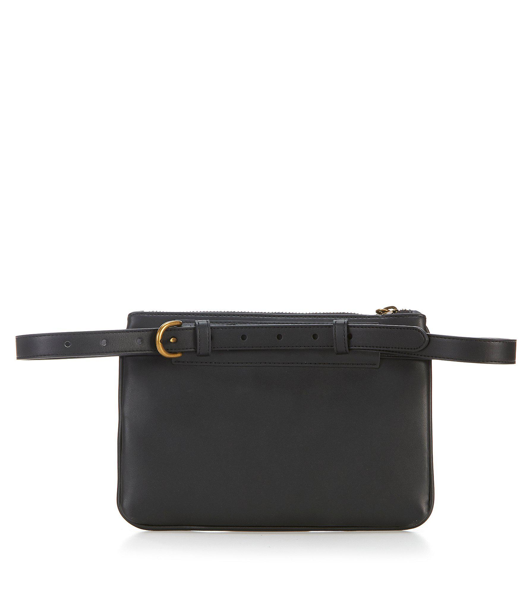 399a88470f Lauren by Ralph Lauren - Black Quilted Belt Bag - Lyst. View fullscreen