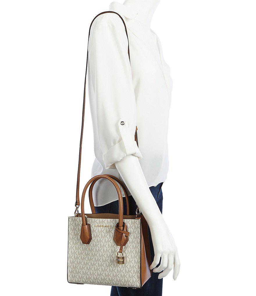 3805207361d2 Lyst - MICHAEL Michael Kors Studio Signature Mercer Cross-body Bag