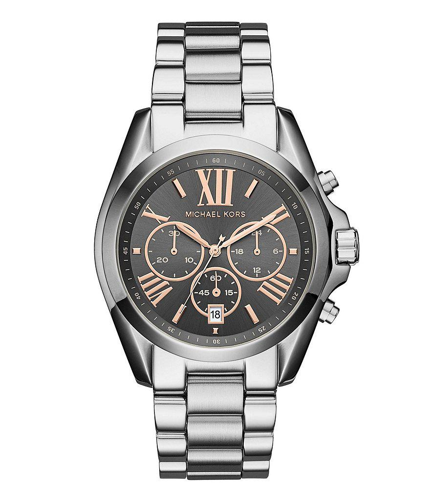 6a23f745d754 Gallery. Previously sold at  Dillard s · Men s Michael Kors Chronograph