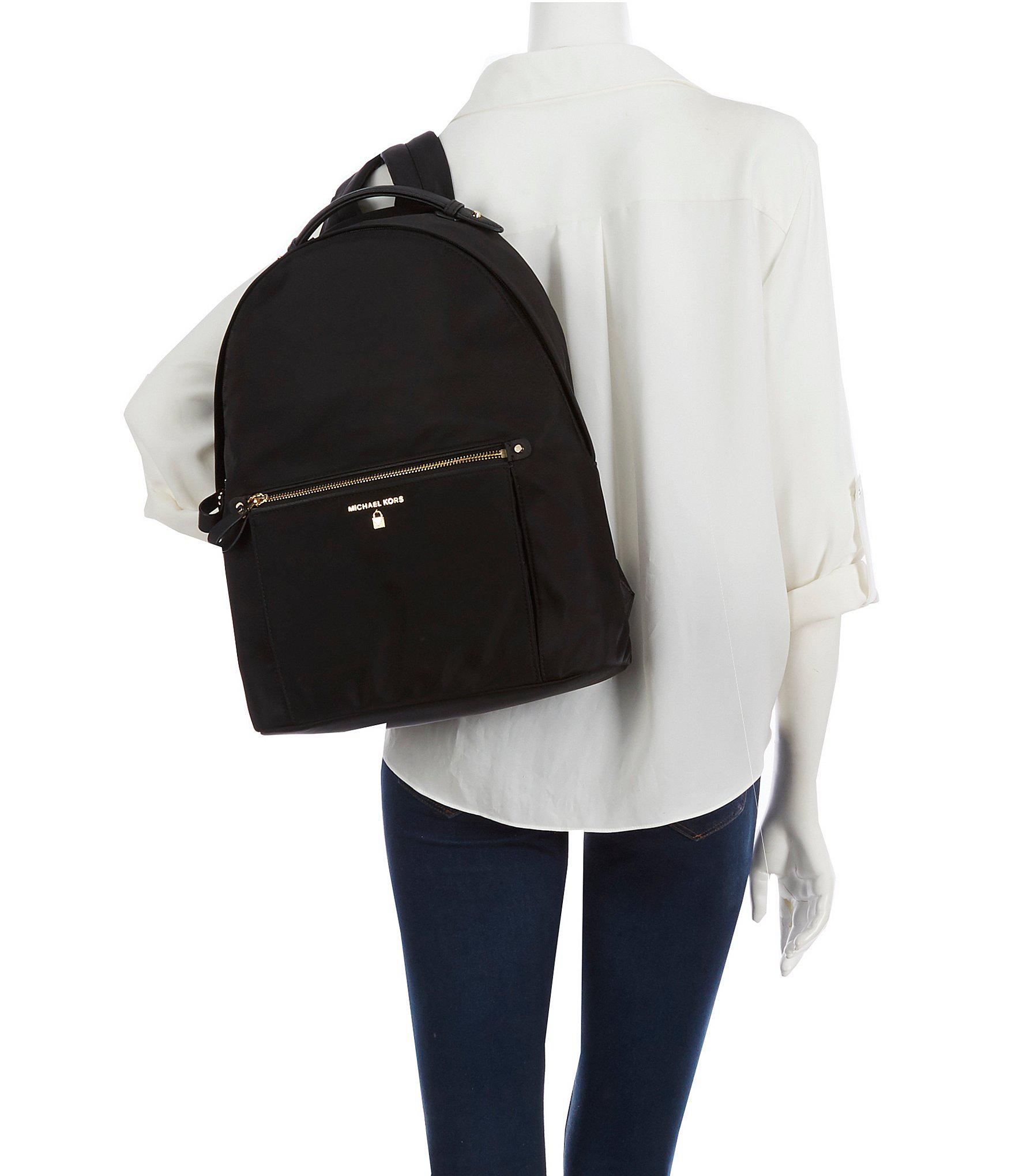de76b21a8a5c MICHAEL Michael Kors - Black Kelsey Nylon Large Backpack - Lyst. View  fullscreen