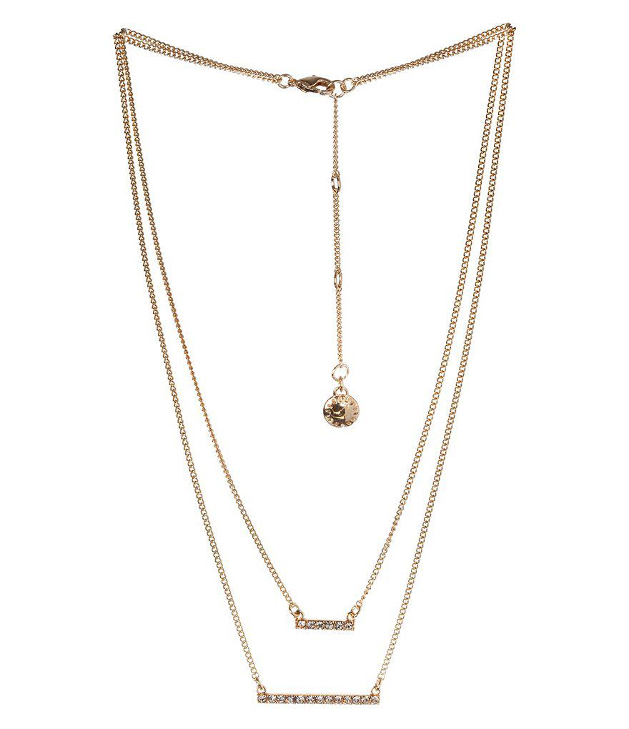 BCBGeneration Bolo Necklace vPE6bN5s0x