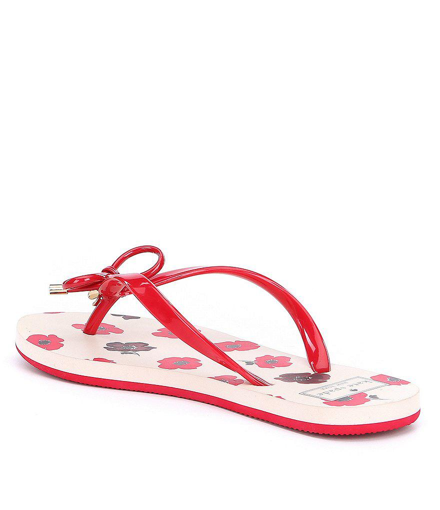 kate spade new york Nova Heart Flip Flops
