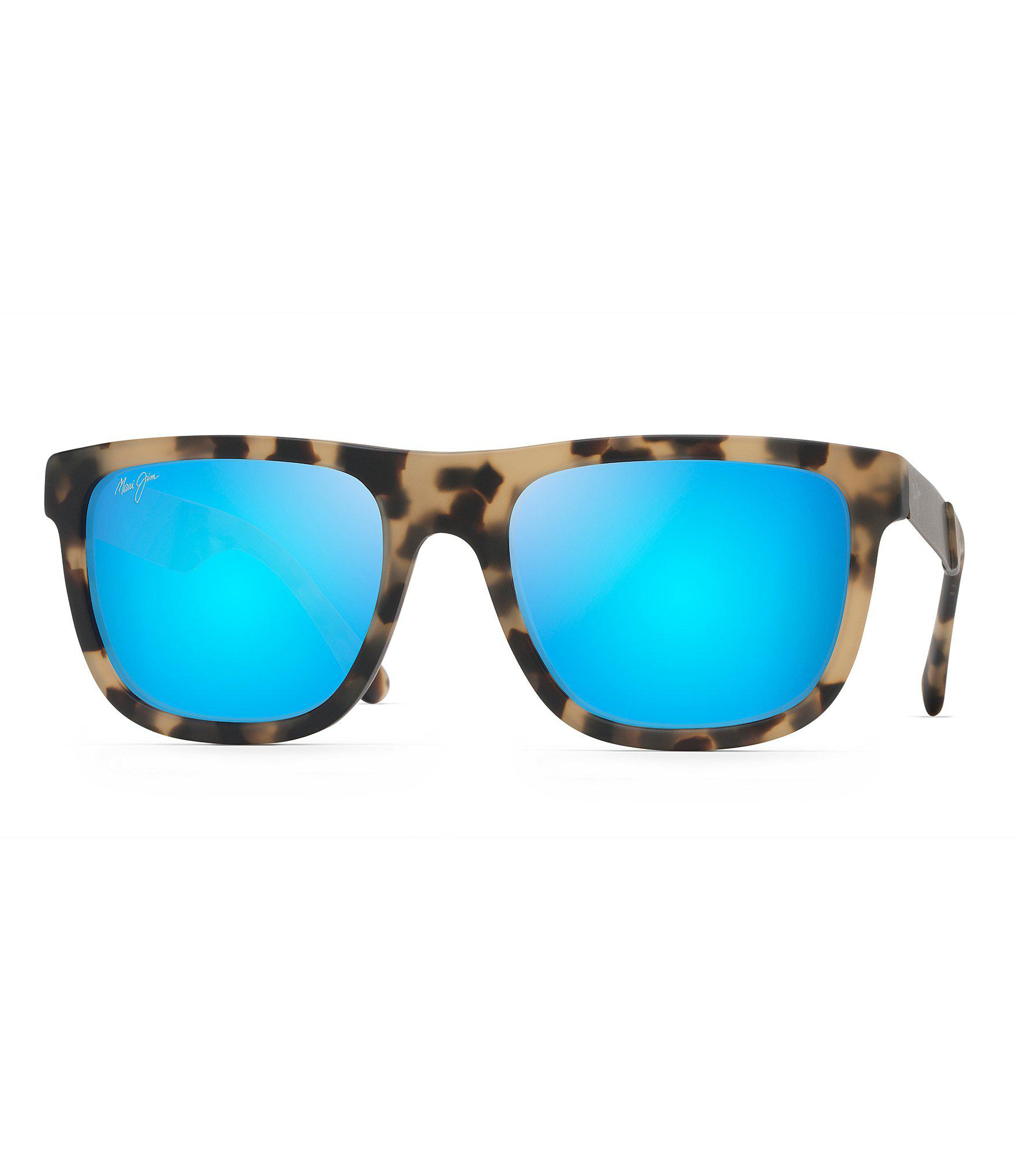 c91d0f8a6c Lyst - Maui Jim Talk Story Polarized Sunglasses in Blue for Men