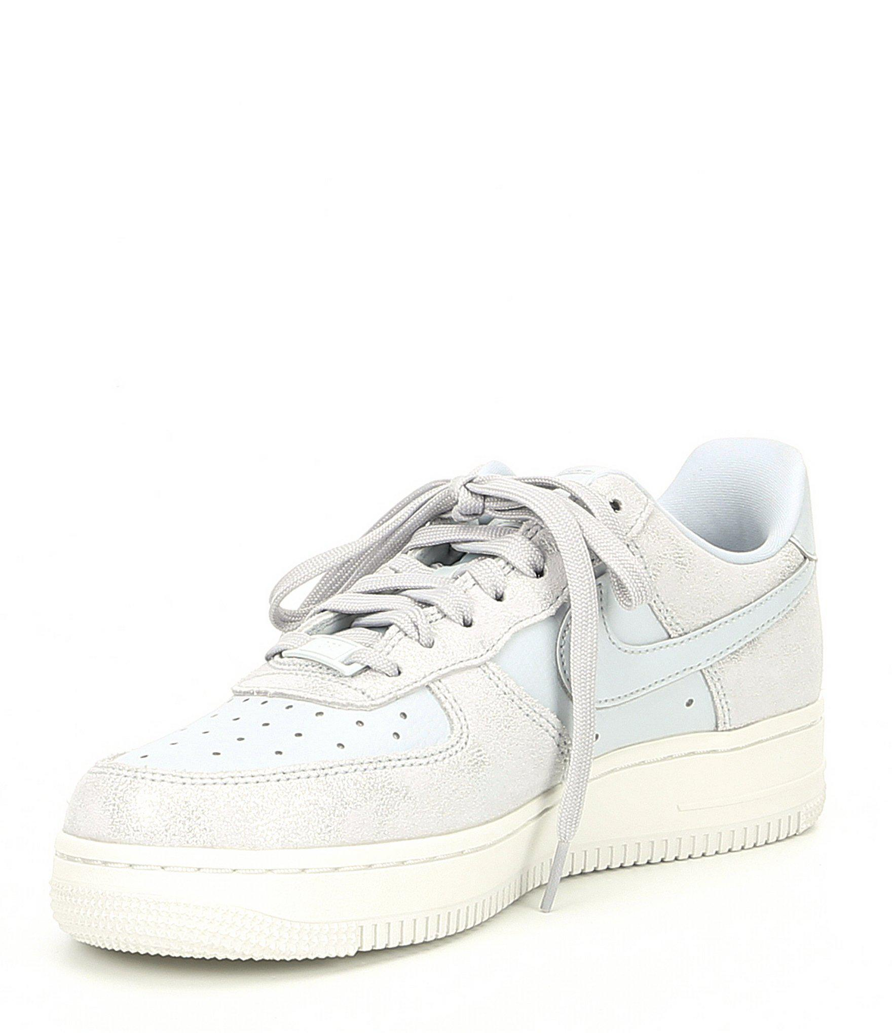 fe8a76945f486 Lyst - Nike Women s Air Force 1 07 Premium Leather Sneaker in White