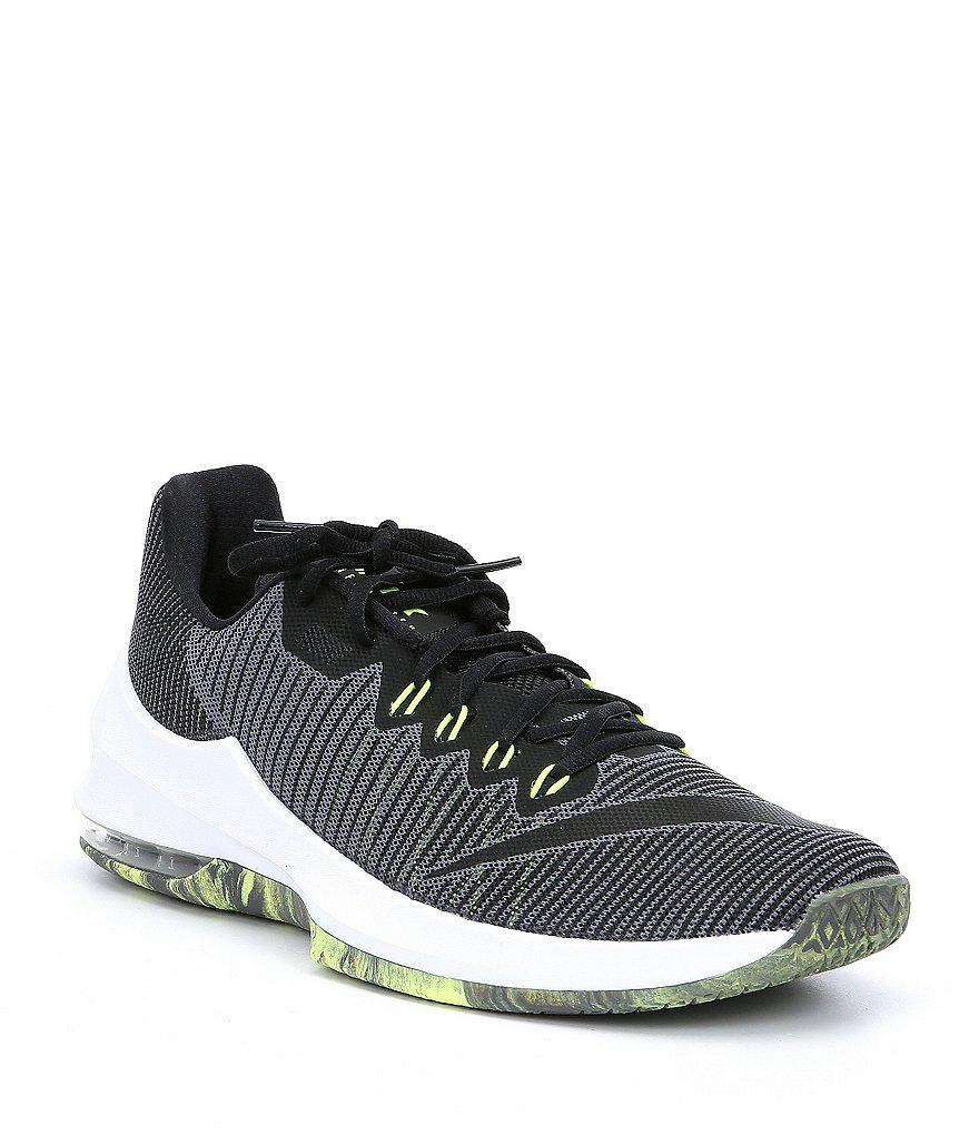 f19729e56581 ... nike gray mens air max infuriate 2 low basketball shoes for men lyst.  view fullscreen