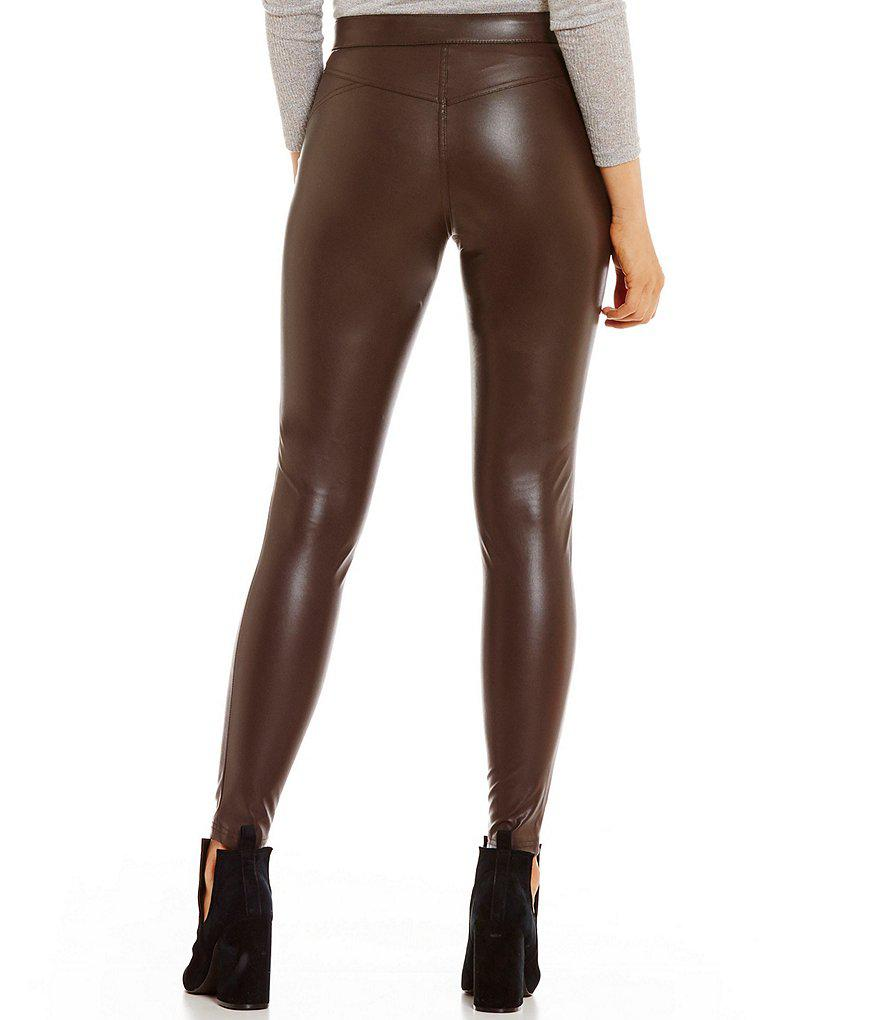 6792bbd3e5578 Gallery. Previously sold at: Dillard's · Women's Faux Leather Pants ...