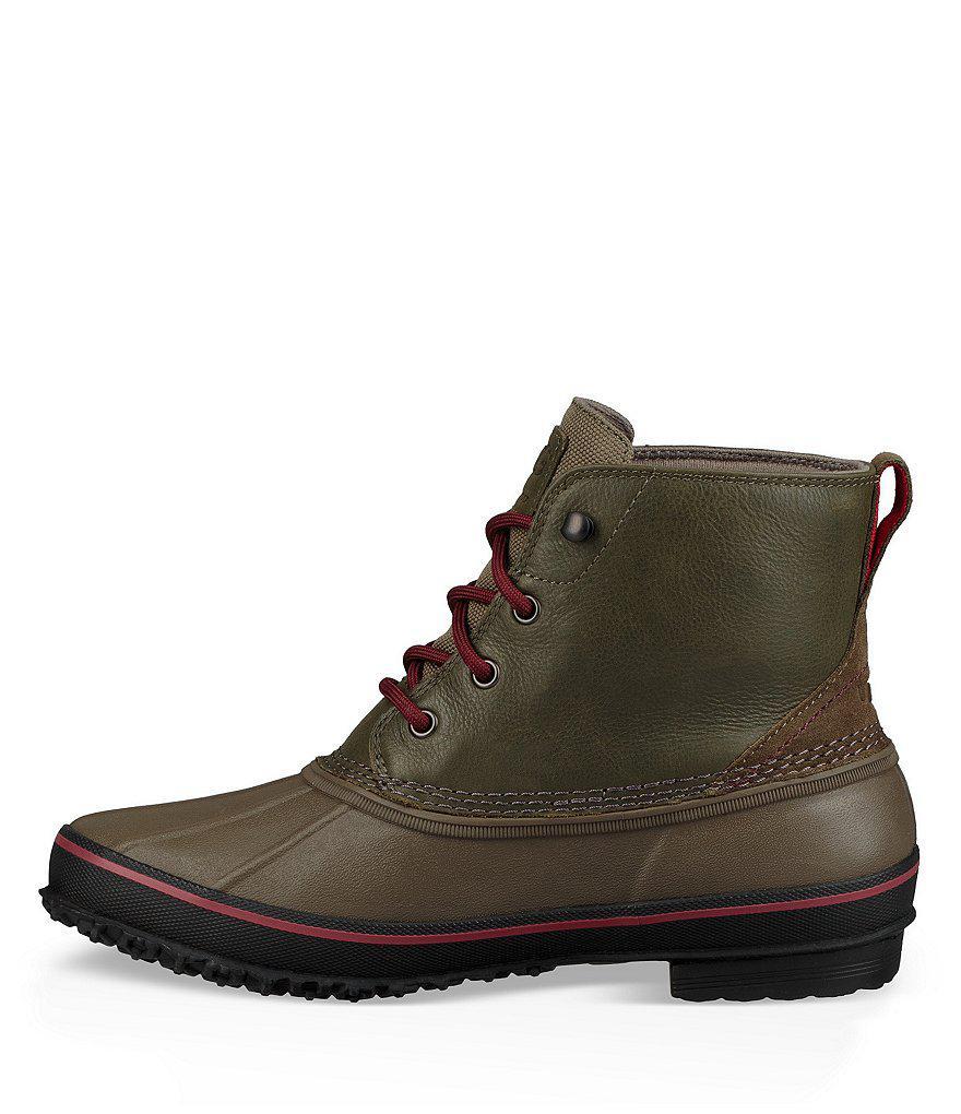 fe7f47fbfc5 Ugg - Brown Men S Zetik Waterproof Boots for Men - Lyst