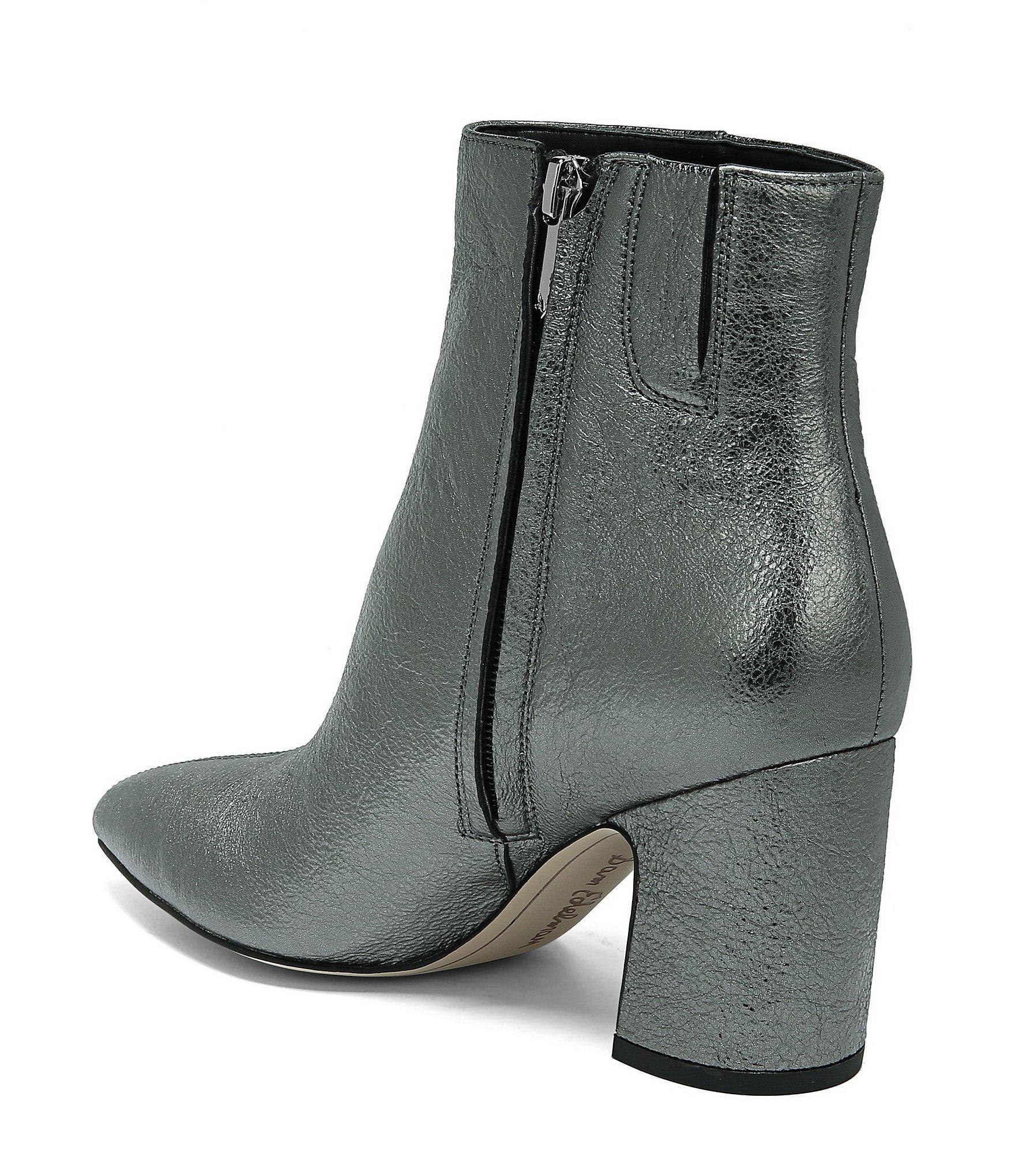 2db6307f500418 Lyst - Sam Edelman Hilty Pointy Leather Booties