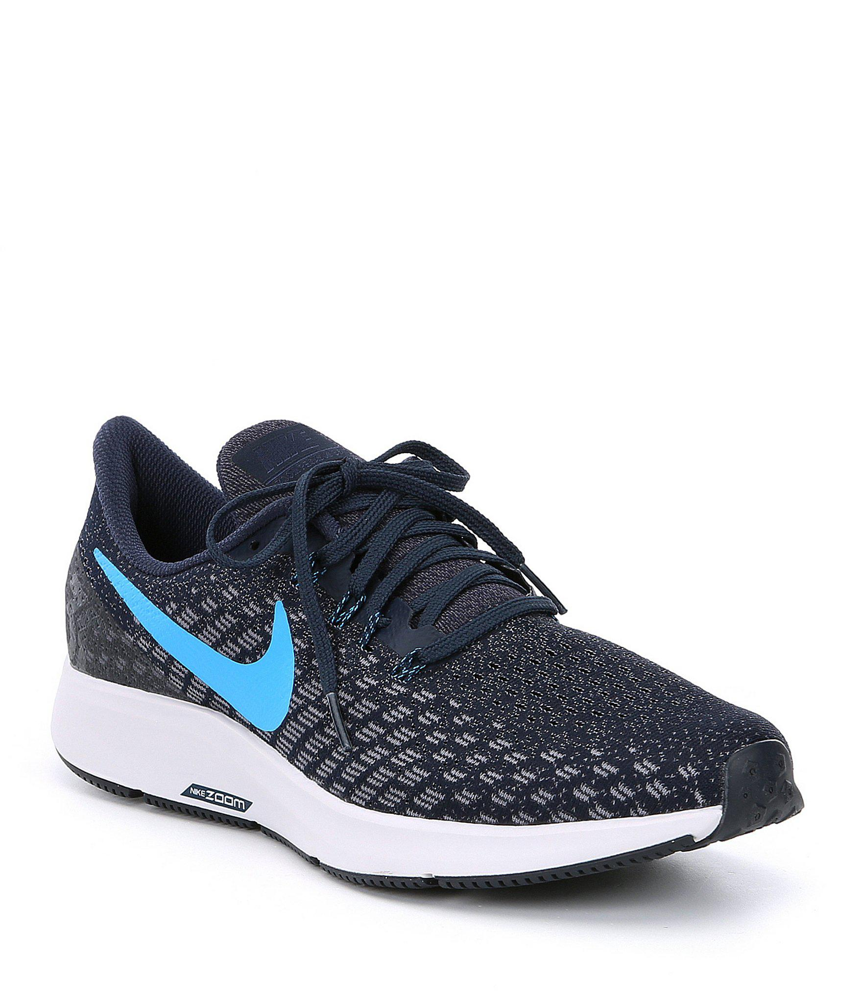 9e6e9f31dd3f4a ... Lyst - Nike Men s Air Zoom Pegasus 35 Running Shoes in Blue for Men  reputable ...