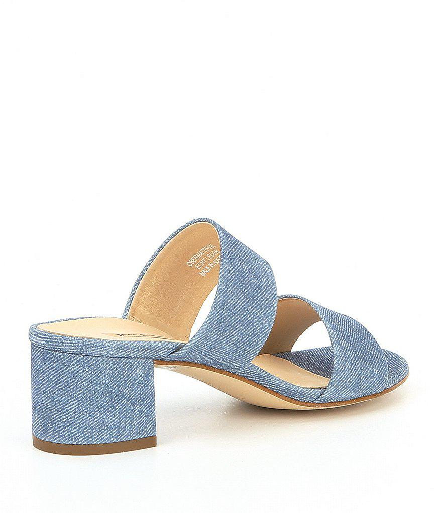 Meg Suede Block Heel Sandals
