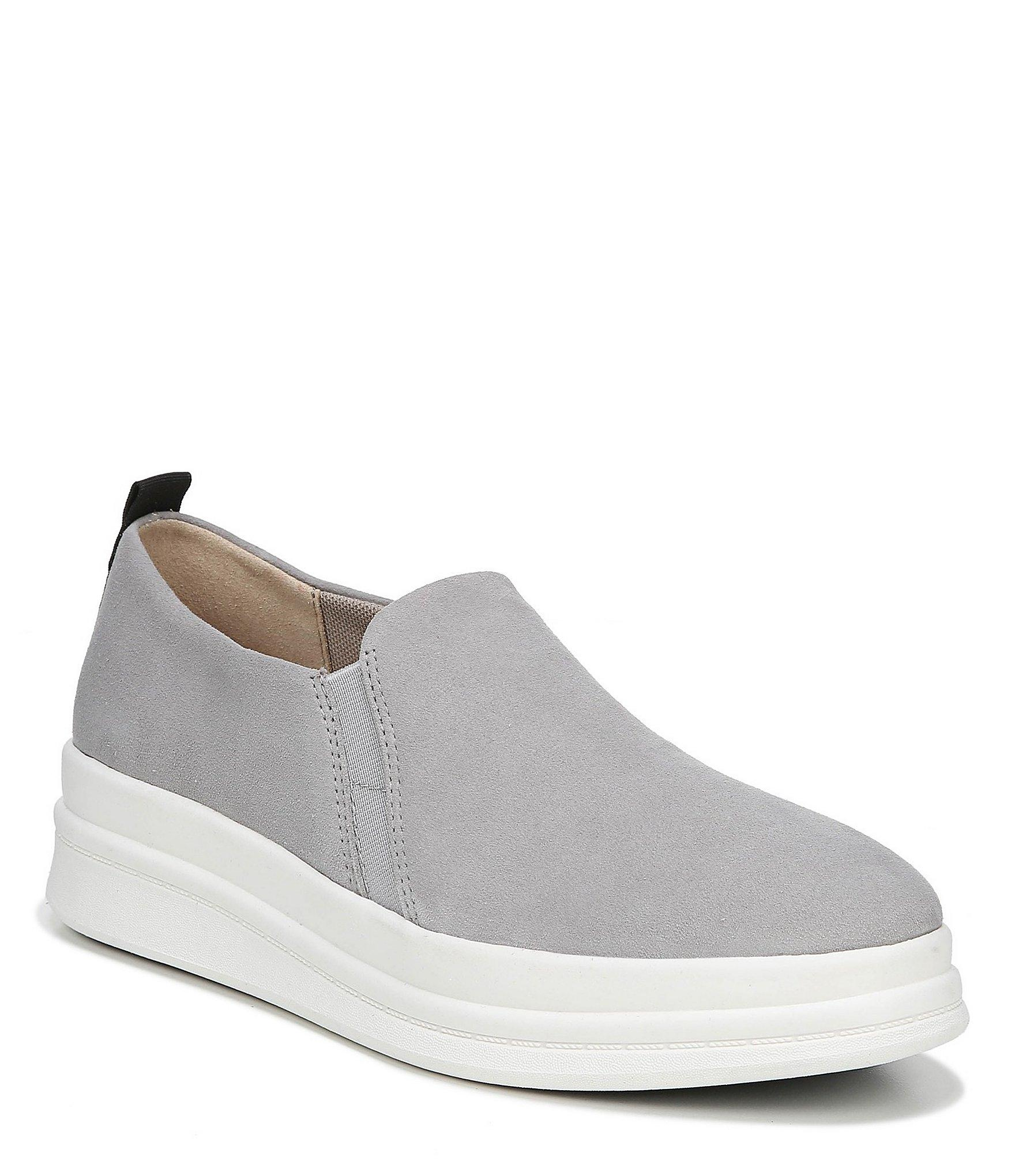 4728e3a21ce Lyst - Naturalizer Yola Suede Slip On Sneakers in Gray