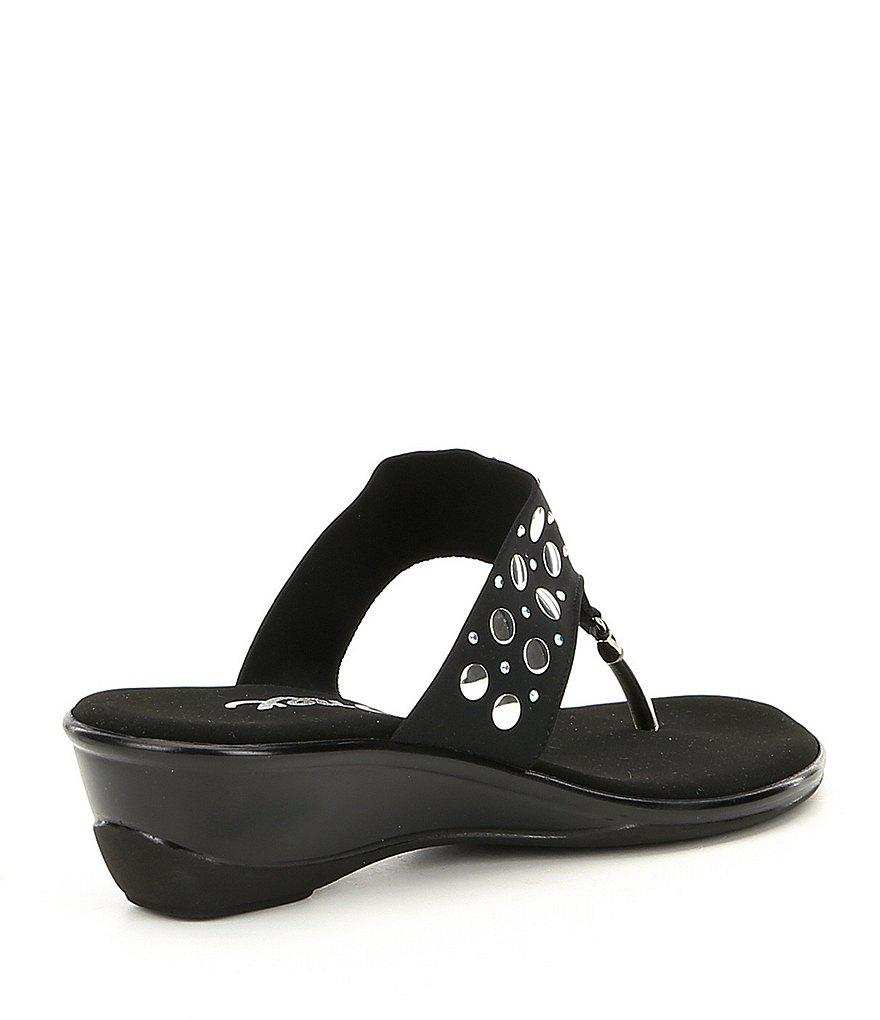 Mermaid Suede Stud Detail Wedge Sandals XLHhiAk