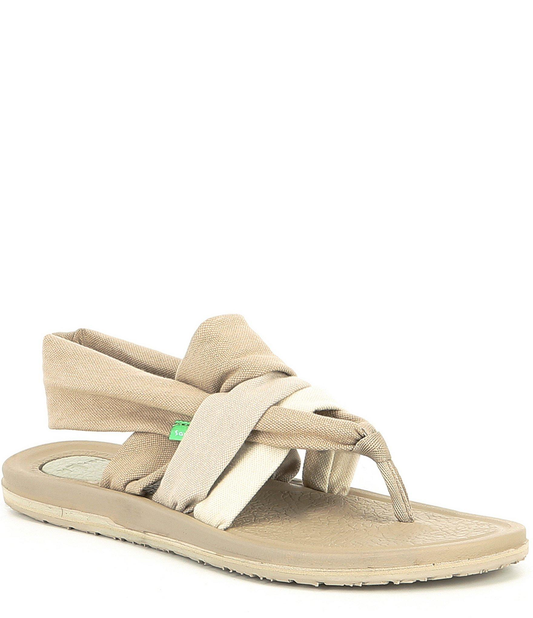 Sanuk Yoga Sling 3 Colorblock Sandals In Natural Lyst