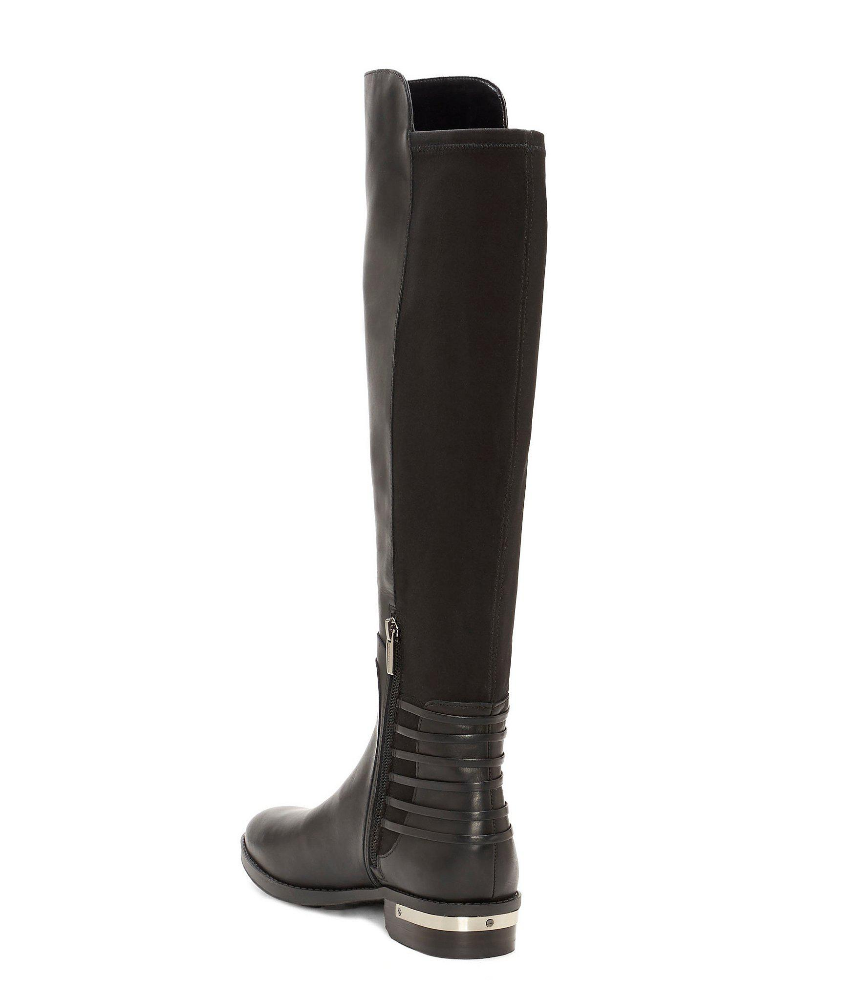 027380c0ca3 Lyst - Vince Camuto Payge Leather Over The Knee Riding Boots in Black