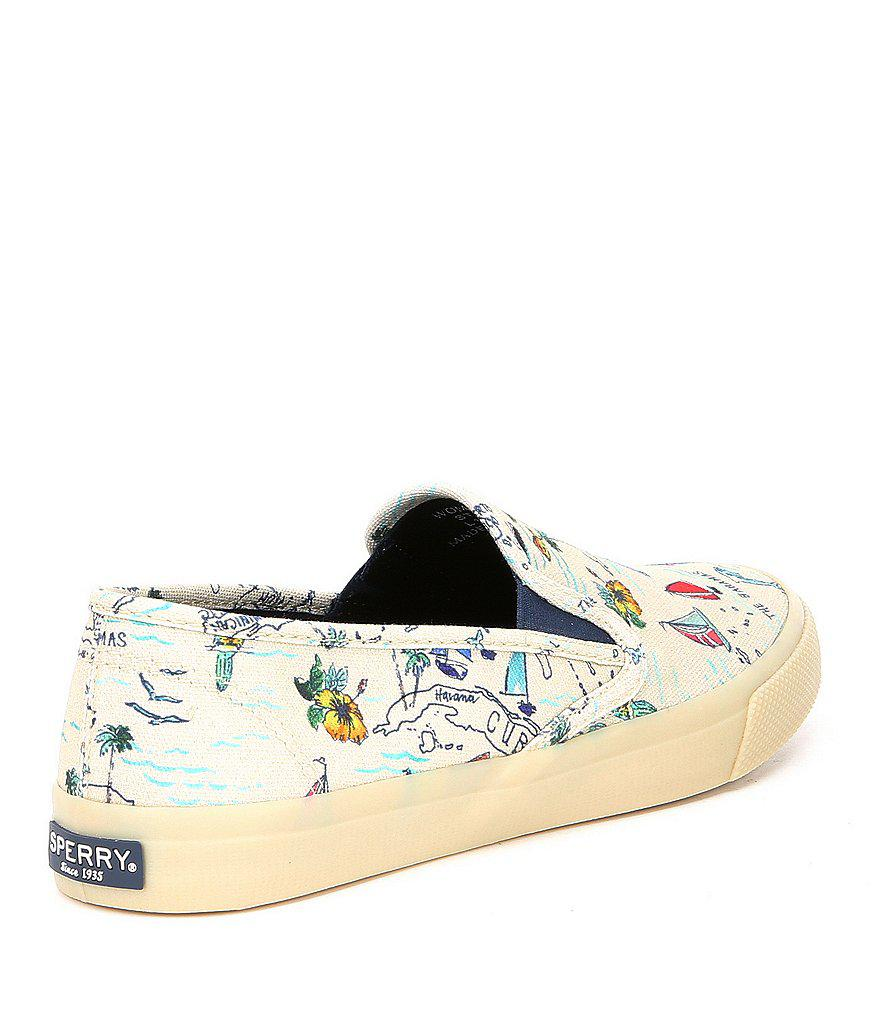 Seaside Novelty Map Sneakers R9QXNyP