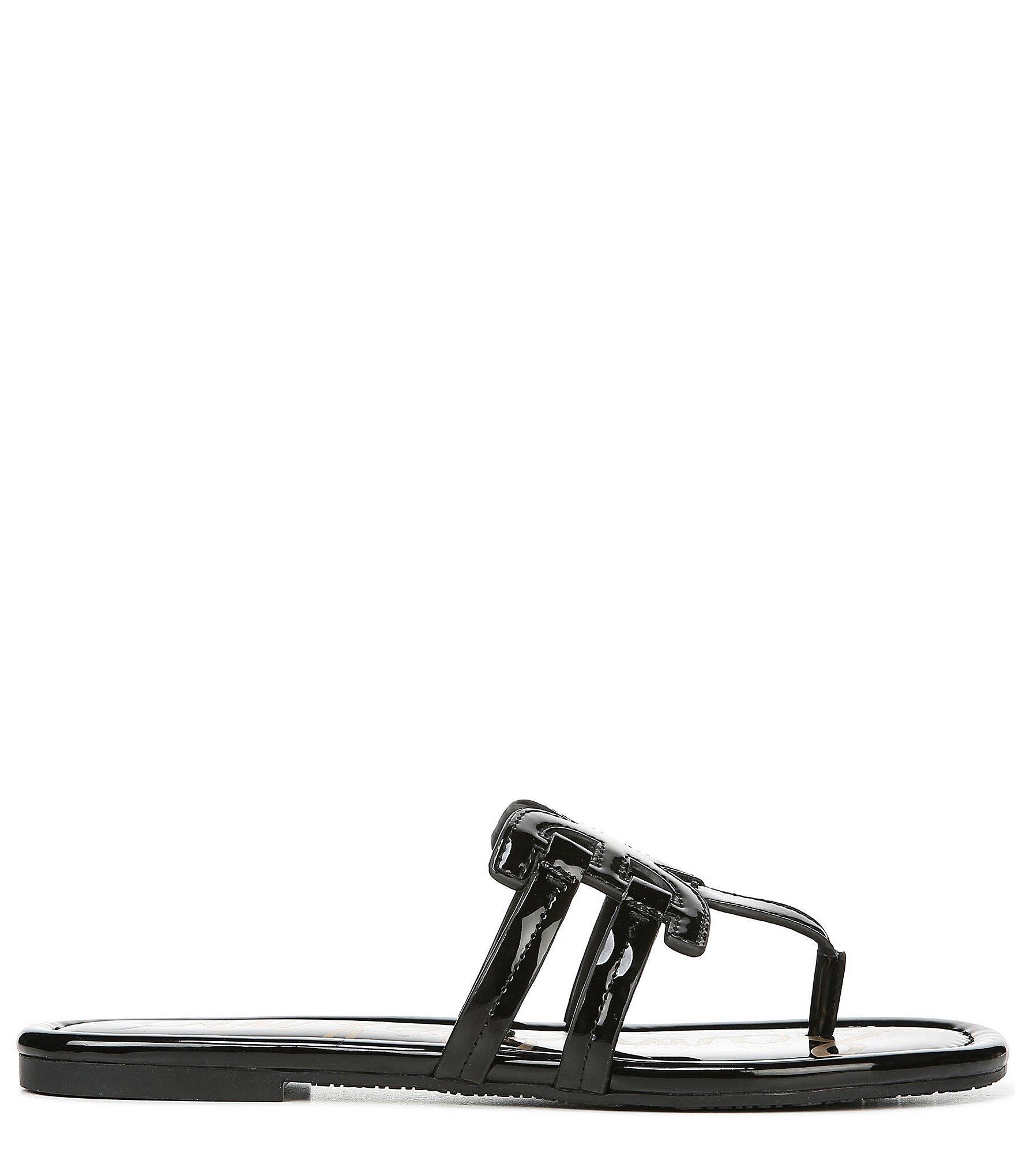 05f84e316 Sam Edelman - Black Cara Patent Double E Sandals - Lyst. View fullscreen