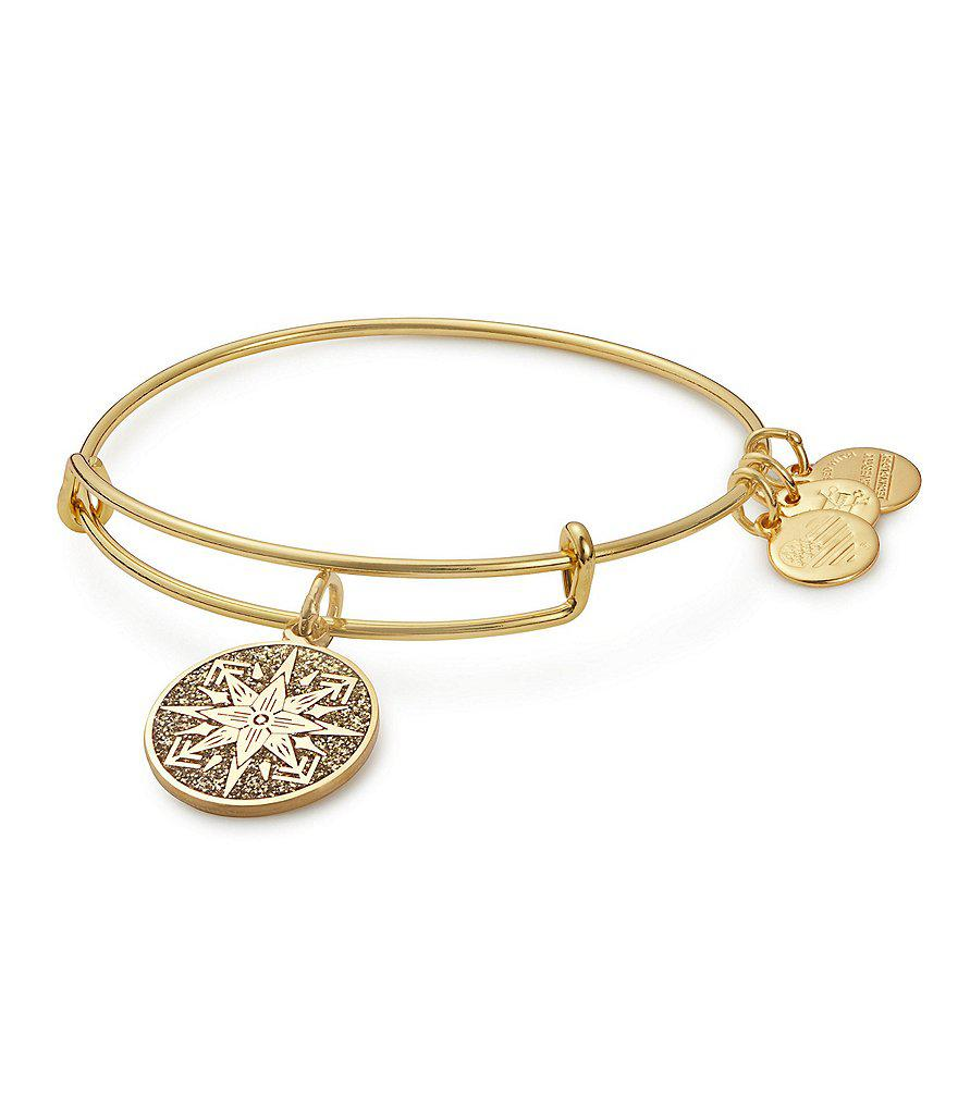 05d3b2ff0 Lyst - ALEX AND ANI Healing Love Color Infusion Charm Bangle ...