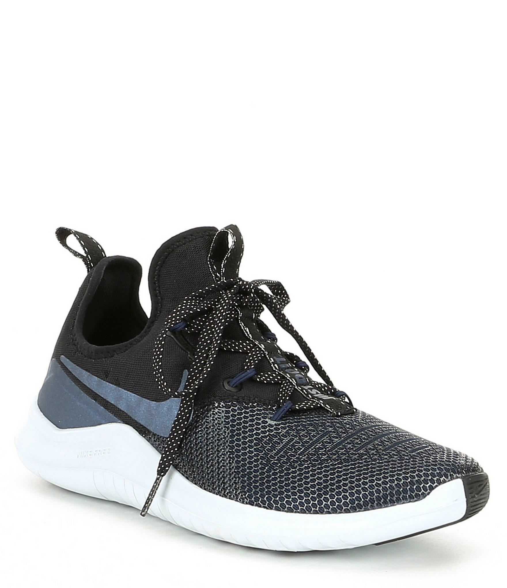 77f7bf243dd96 Lyst - Nike Women s Free Tr 8 Metallic Training Shoe in Black