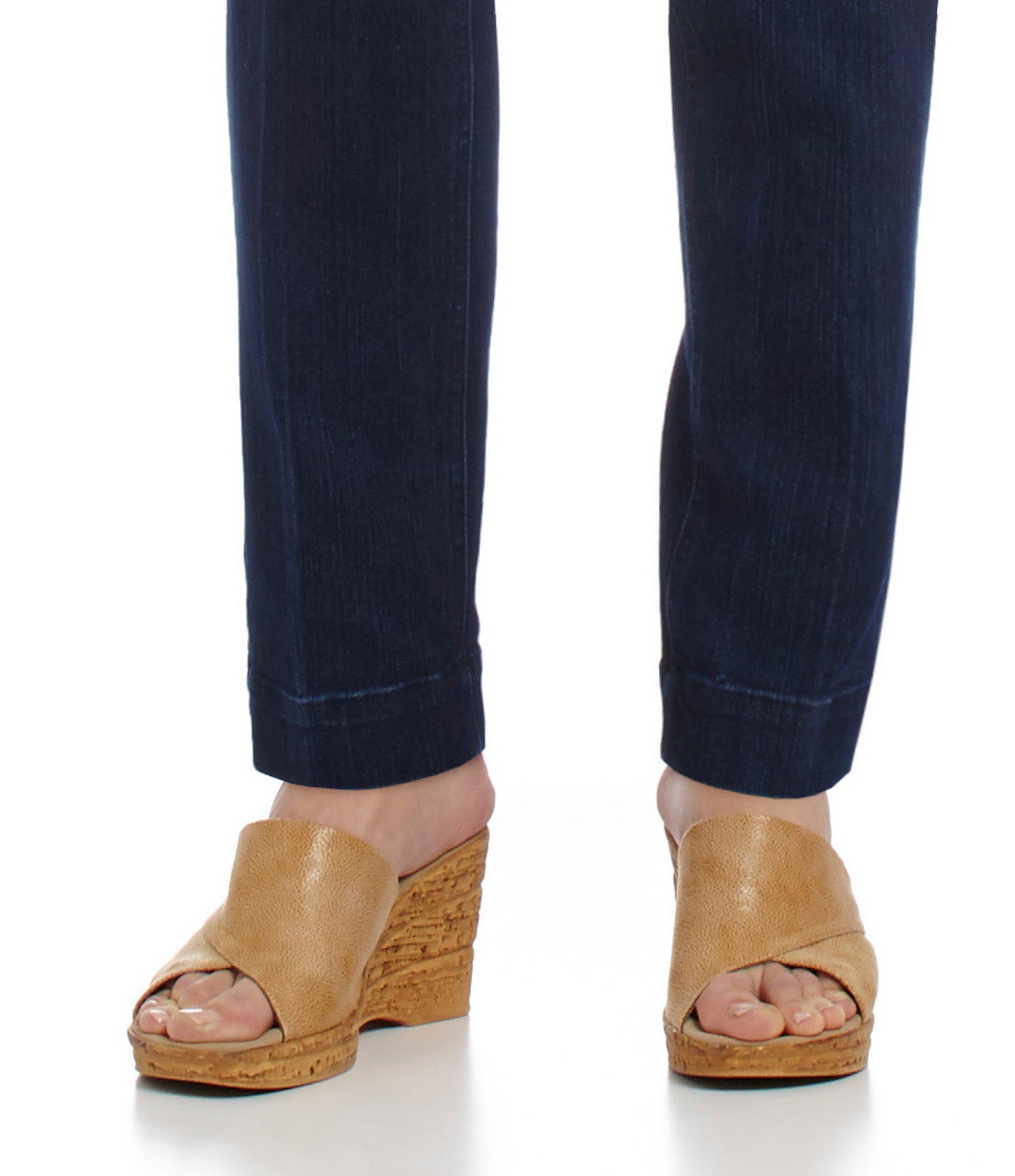 c56e5cd3b08 Onex - Natural Christina Leather Banded Cork Wedge Sandals - Lyst. View  fullscreen