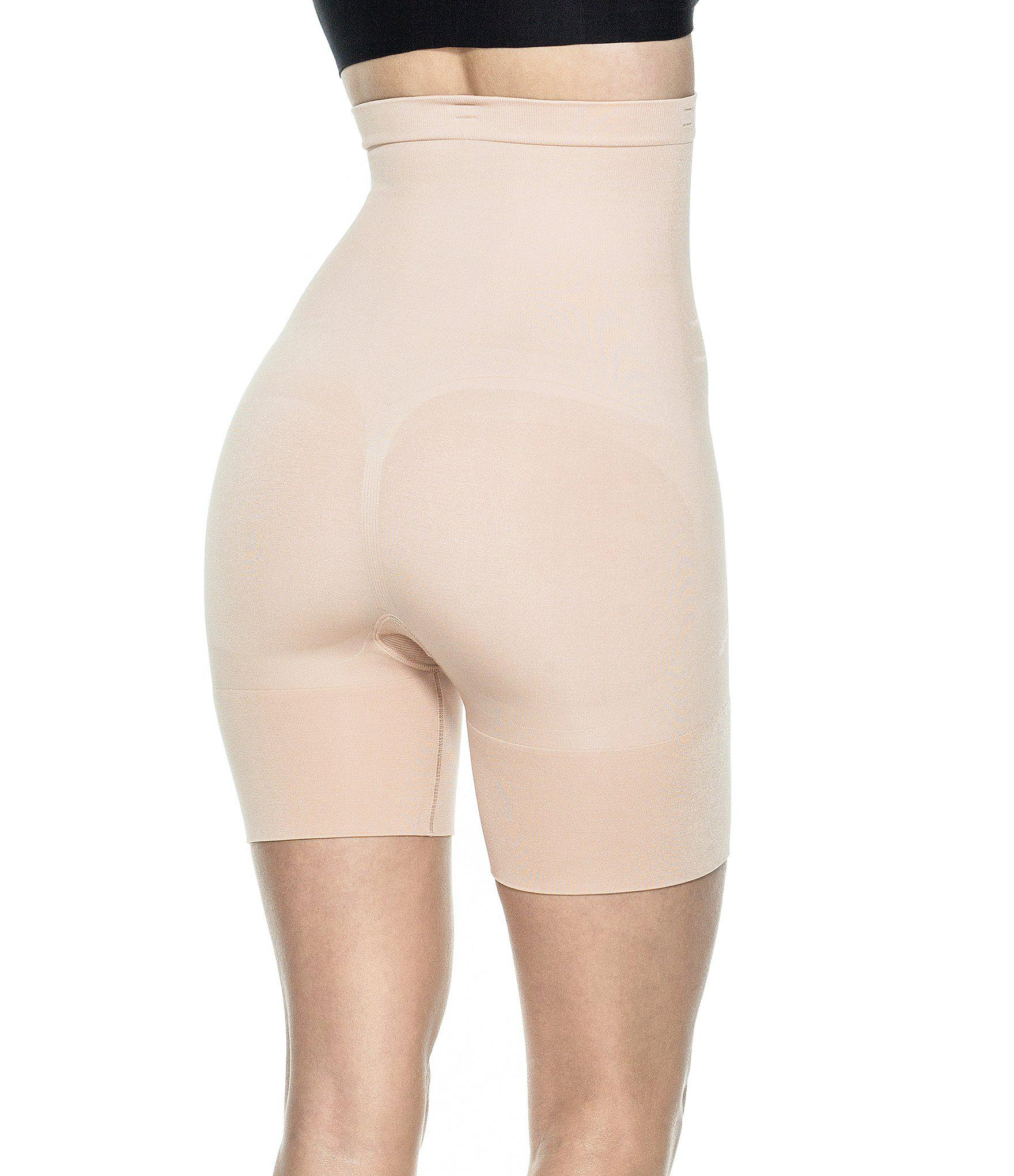 52cce0d7cf9 Spanx - Natural Plus New   Slimproved! Slim Cognito High-waisted Mid-thigh.  View fullscreen