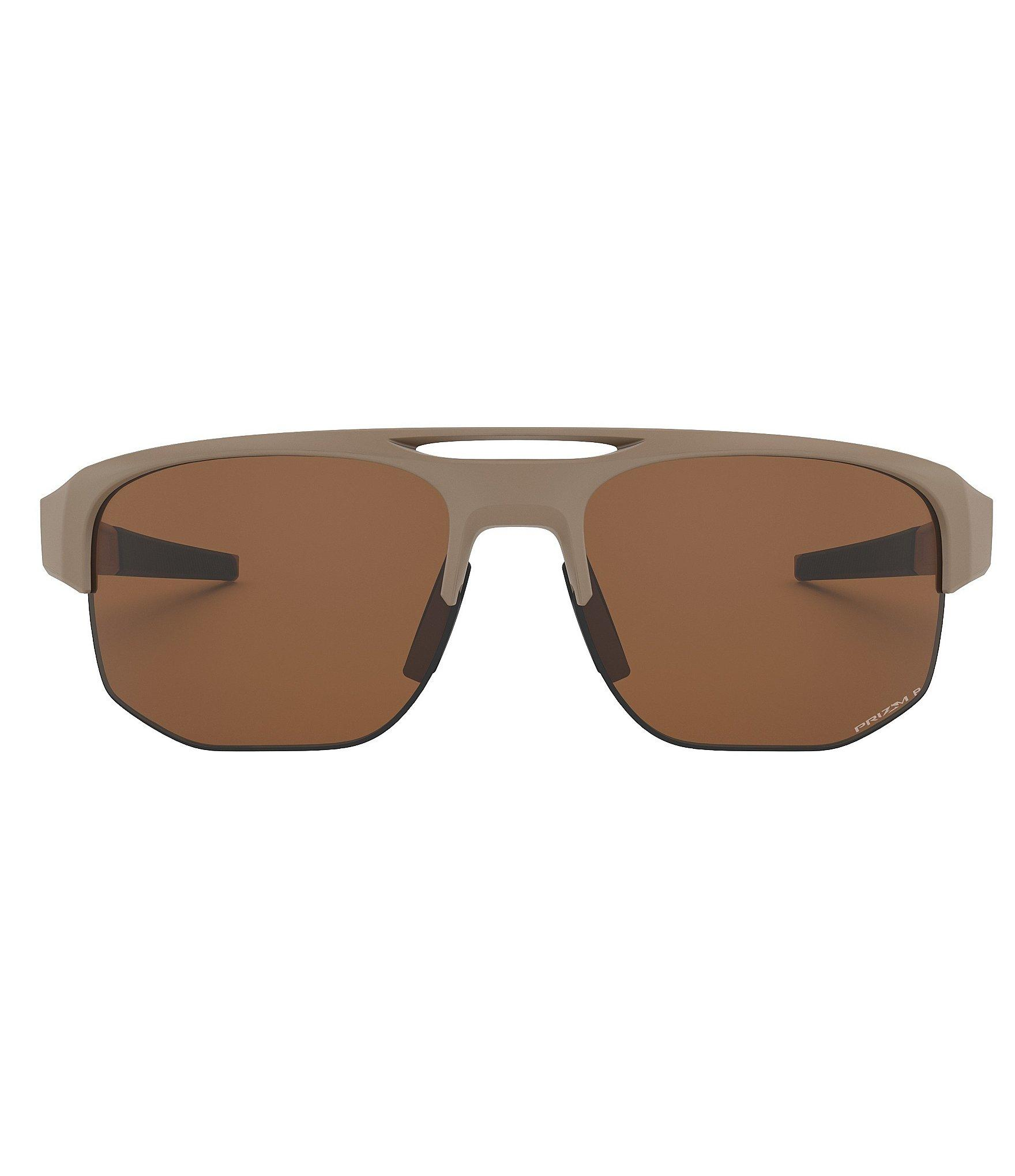 8d50e5c994 Oakley - Brown Mercenary Matte Polarized Prizm Wrap Sunglasses for Men -  Lyst. View fullscreen