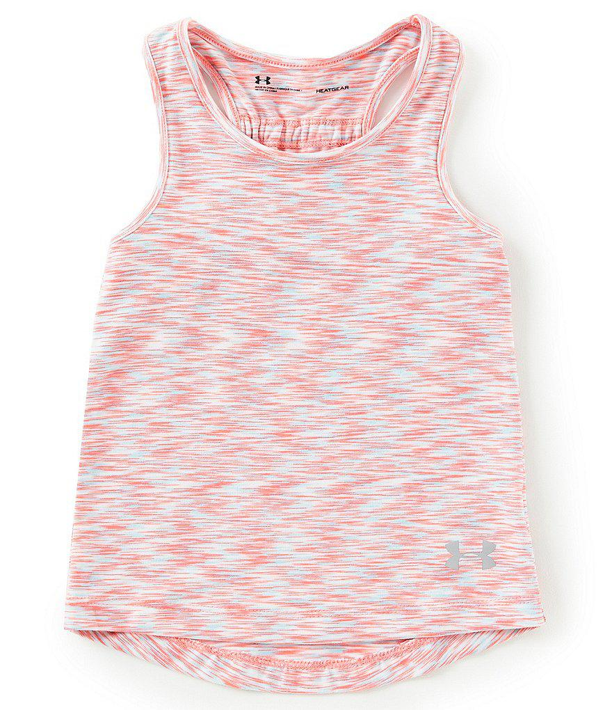 4b98caaff Lyst - Under Armour Baby Girl 12-24 Months Twist Tank Top in Pink