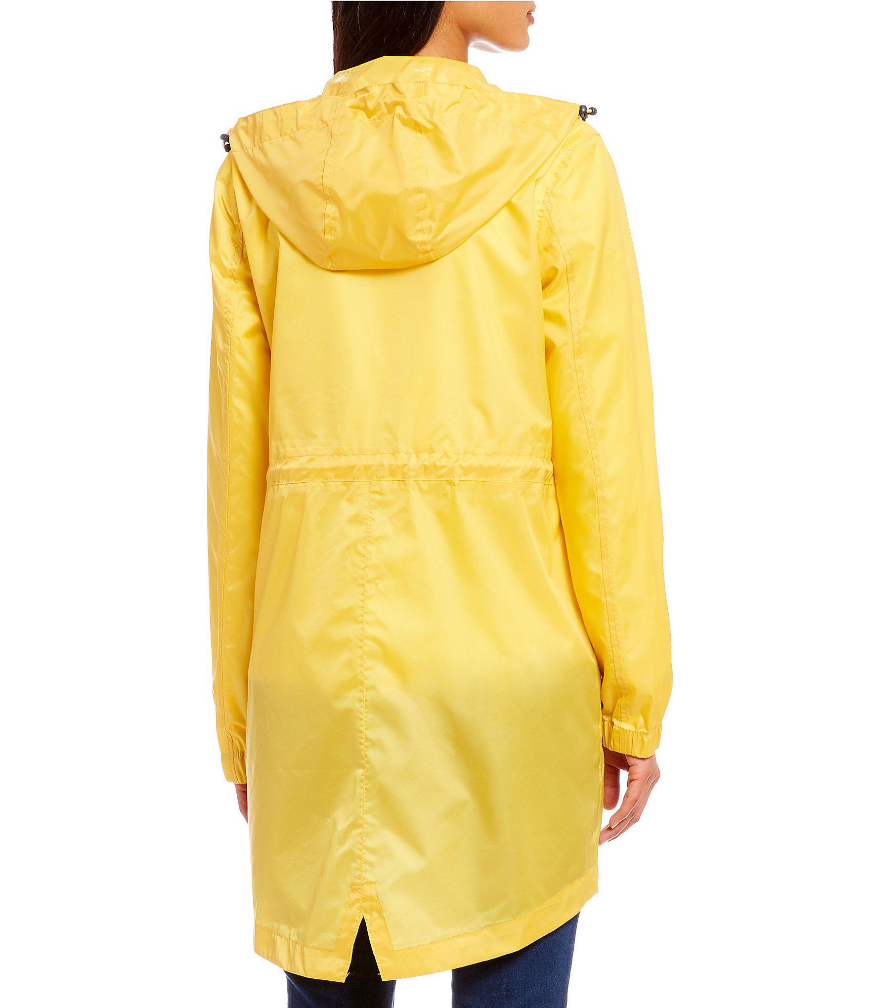 aeb2f17b7 Lyst - Joules Golightly Pack Away Waterproof Hooded Raincoat in Yellow