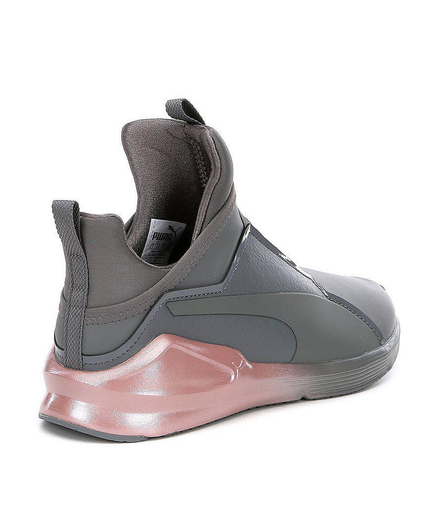 Lyst - PUMA Fierce Chalet Slip-on Sneakers in Gray for Men cb59d90fe