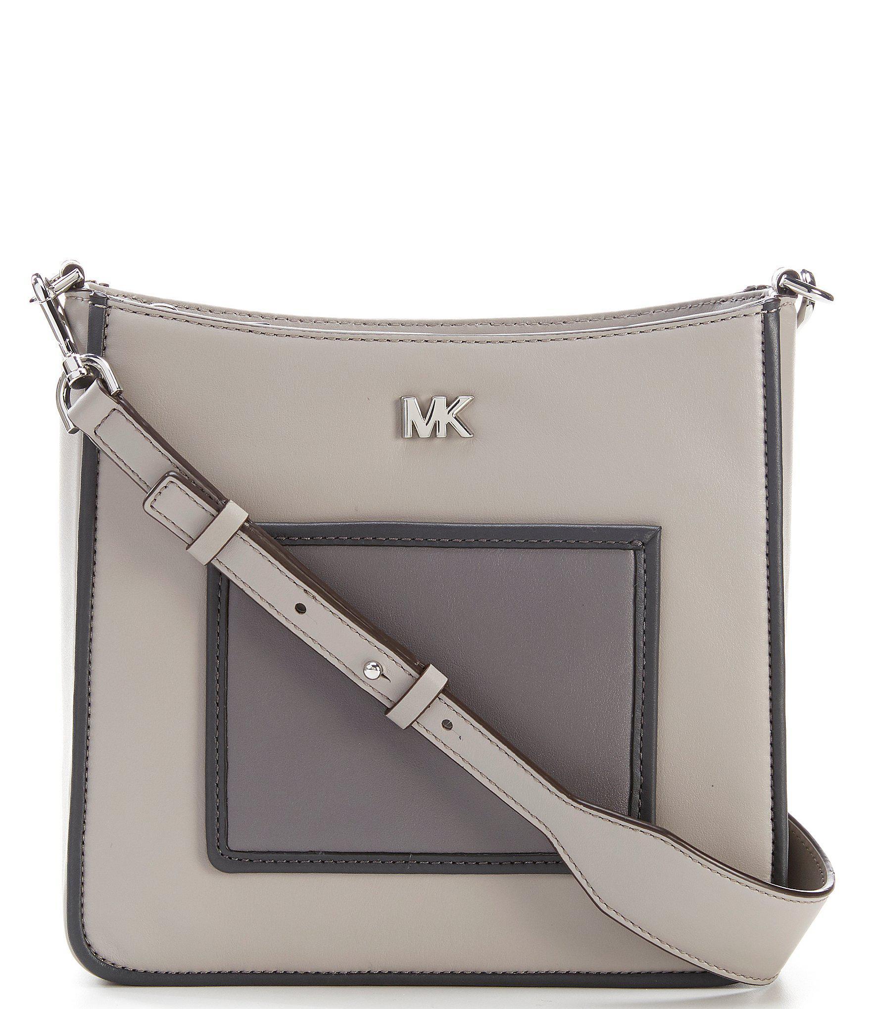 1fccff6f3bcd MICHAEL Michael Kors Gloria Pocket Cross-body Bag in Gray - Lyst