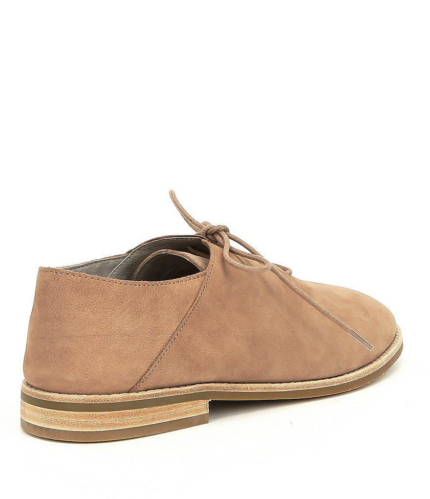 Fresno Nubuck Block Heel Oxfords F7WLqLF